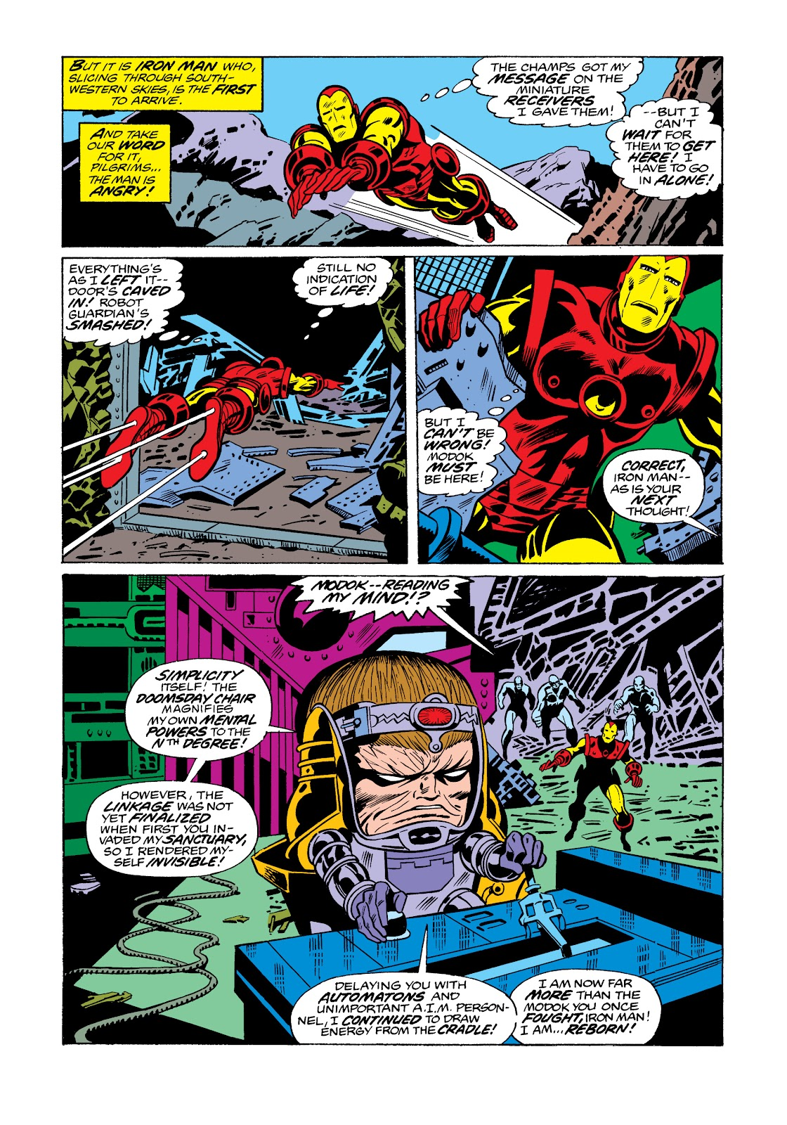 Read online Marvel Masterworks: The Invincible Iron Man comic -  Issue # TPB 11 (Part 3) - 108