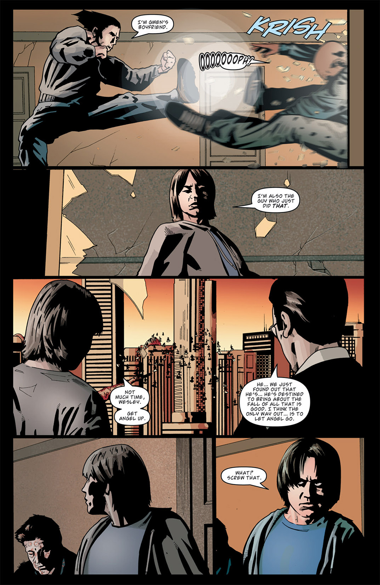 Read online Angel: After The Fall comic -  Issue #13 - 18