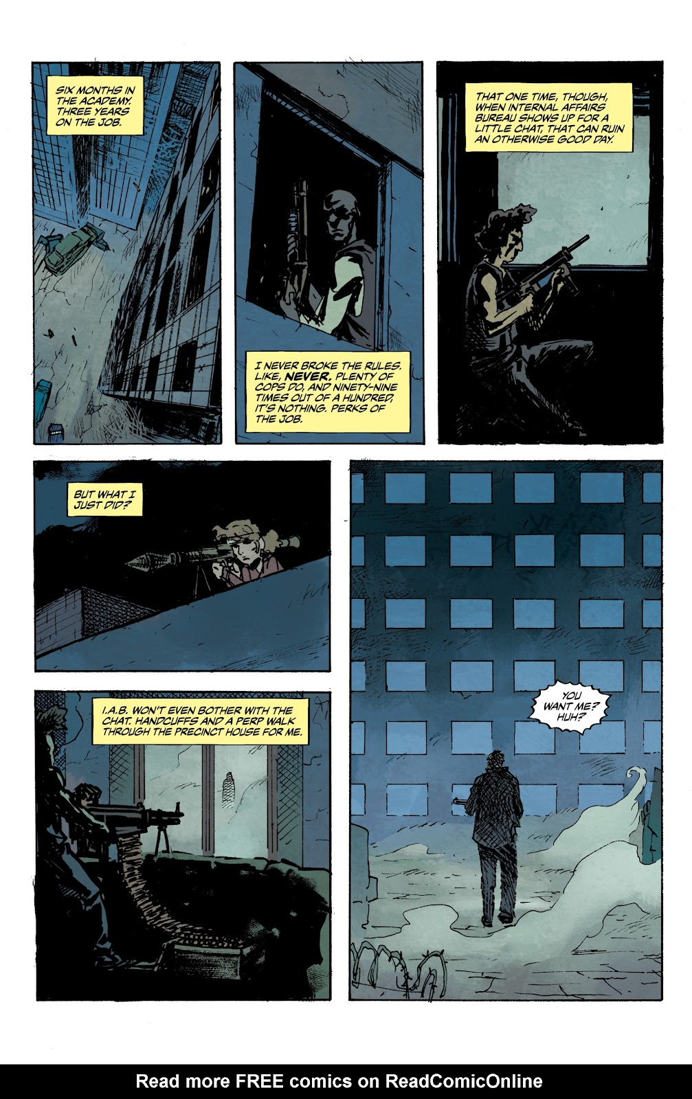 Read online The Terminator: Sector War comic -  Issue #3 - 8