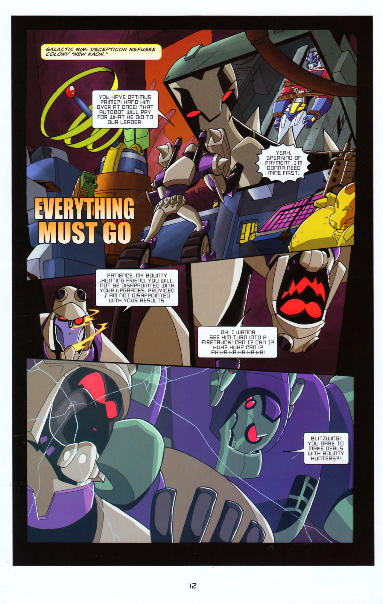 Read online Transformers Animated: The Arrival comic -  Issue #5 - 16