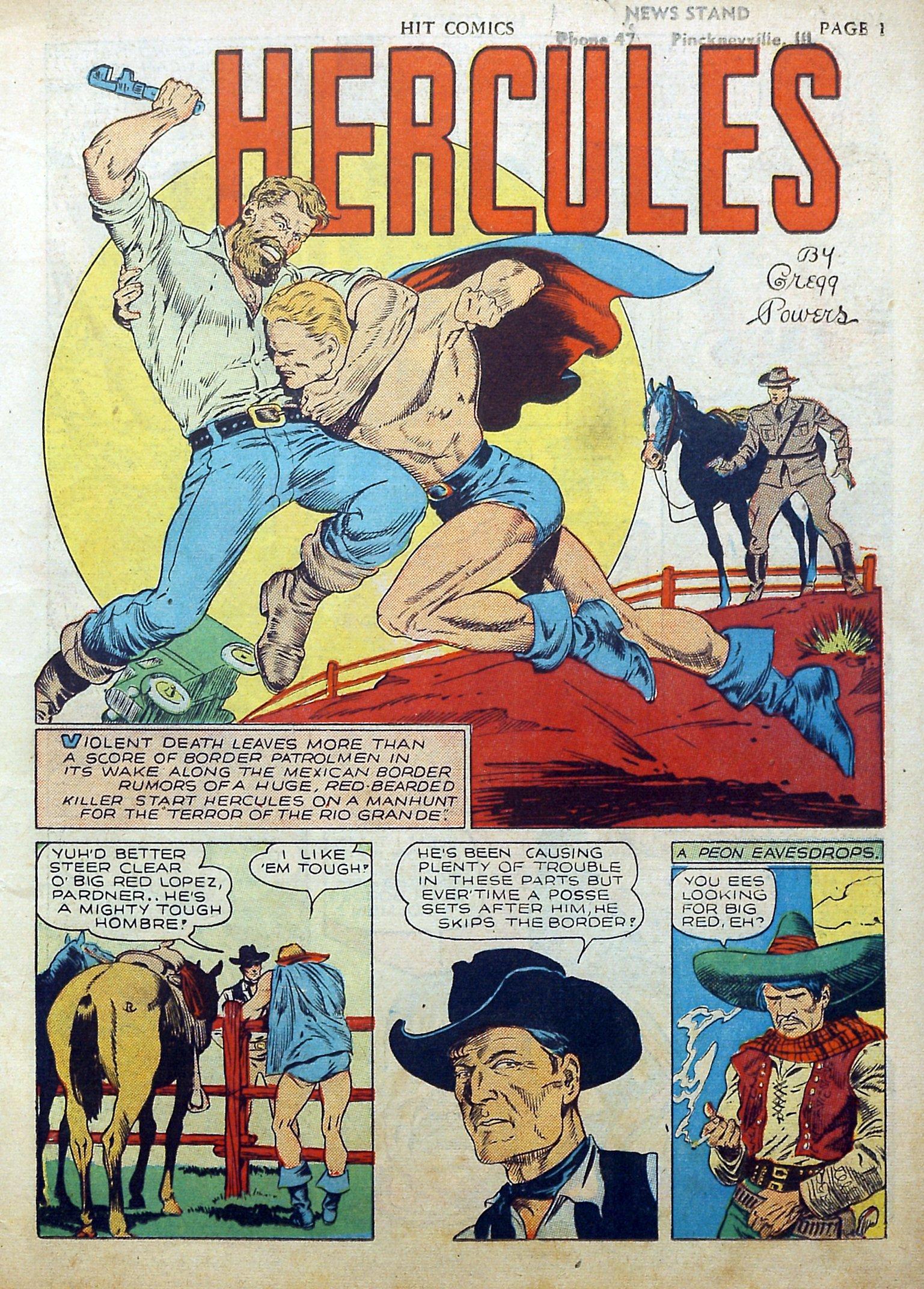 Read online Hit Comics comic -  Issue #17 - 3