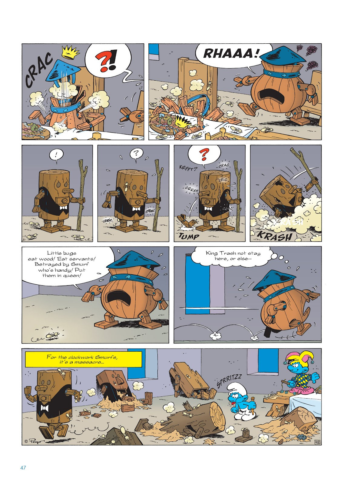Read online The Smurfs comic -  Issue #23 - 47