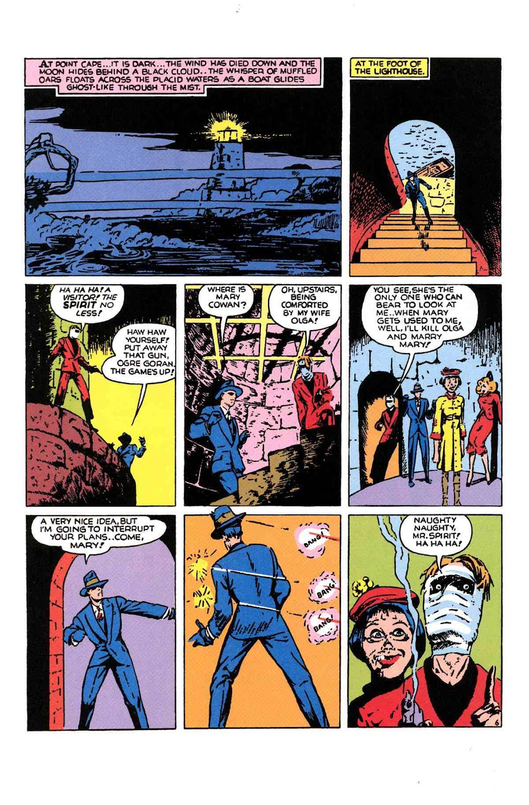 Read online Will Eisner's The Spirit Archives comic -  Issue # TPB 1 (Part 2) - 47