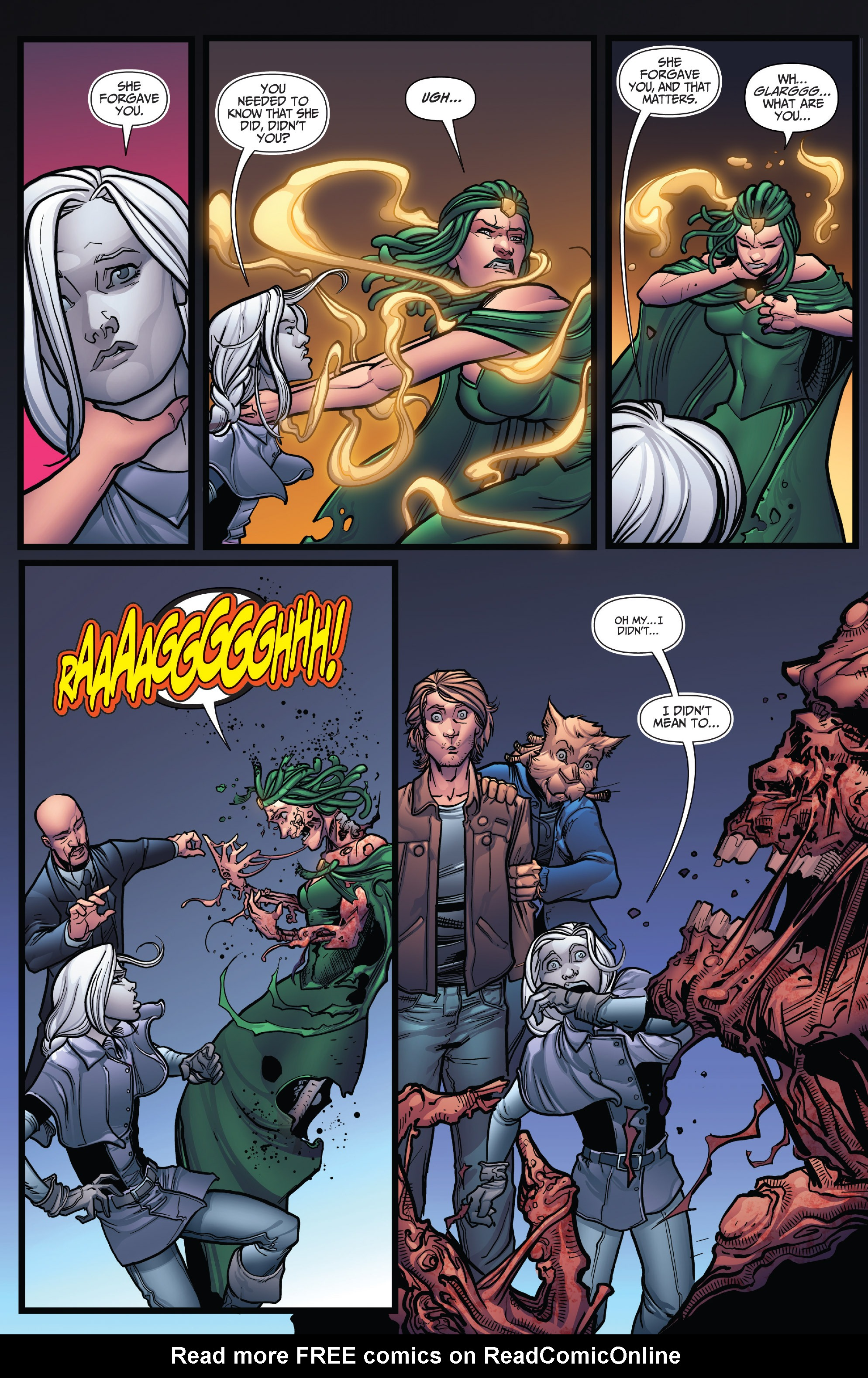 Read online Grimm Fairy Tales: Arcane Acre comic -  Issue # TPB 4 - 23