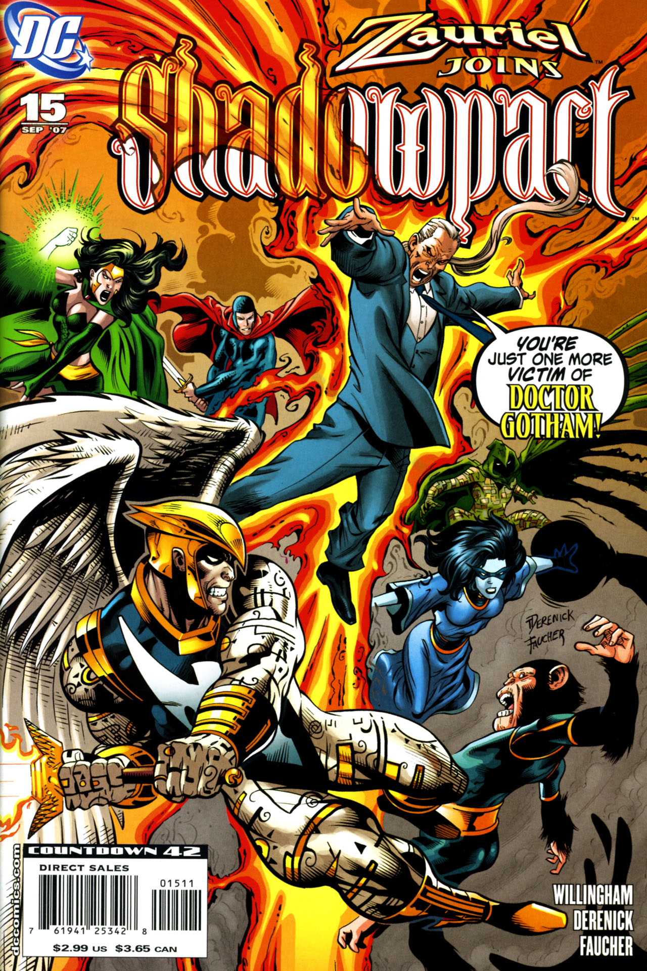 Read online Shadowpact comic -  Issue #15 - 1