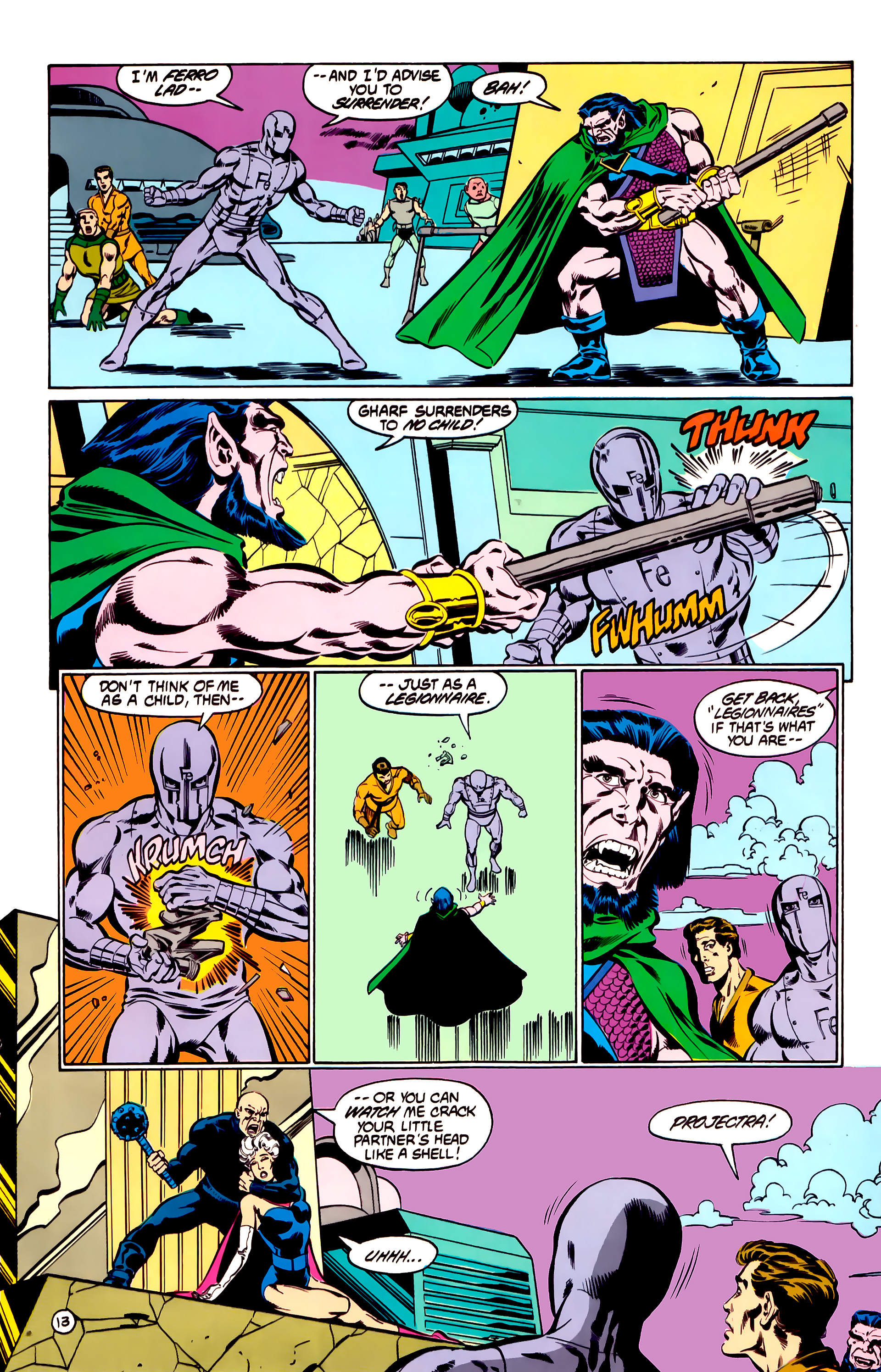 Legion of Super-Heroes (1984) 31 Page 13
