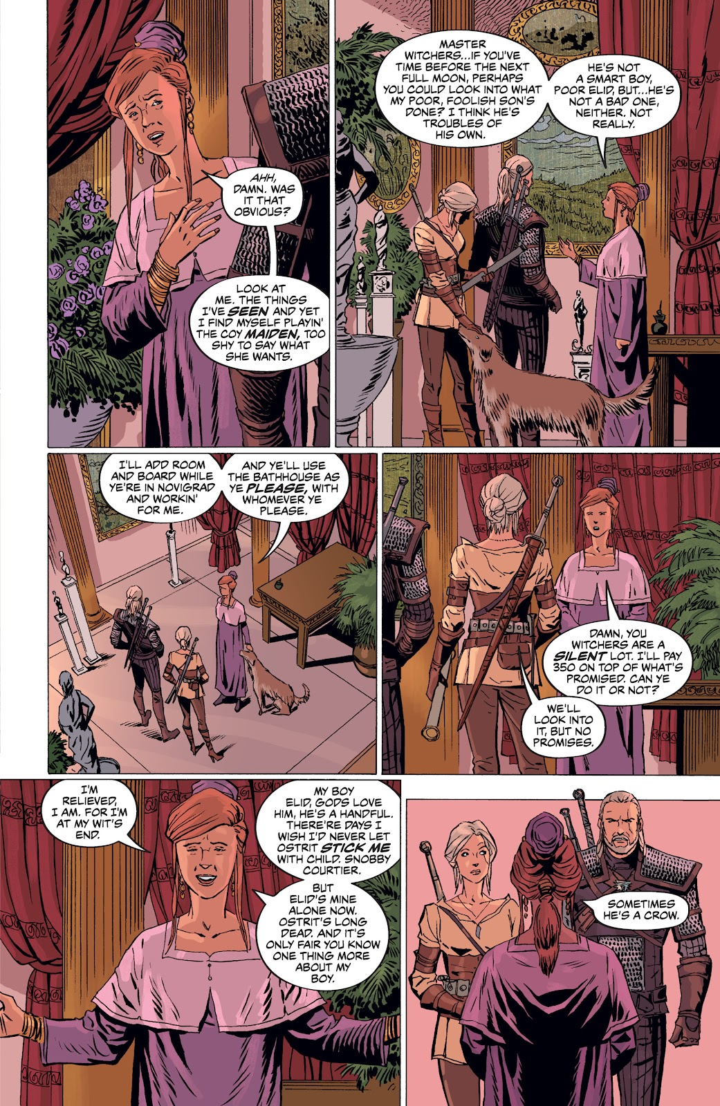Read online The Witcher Omnibus comic -  Issue # TPB (Part 4) - 40