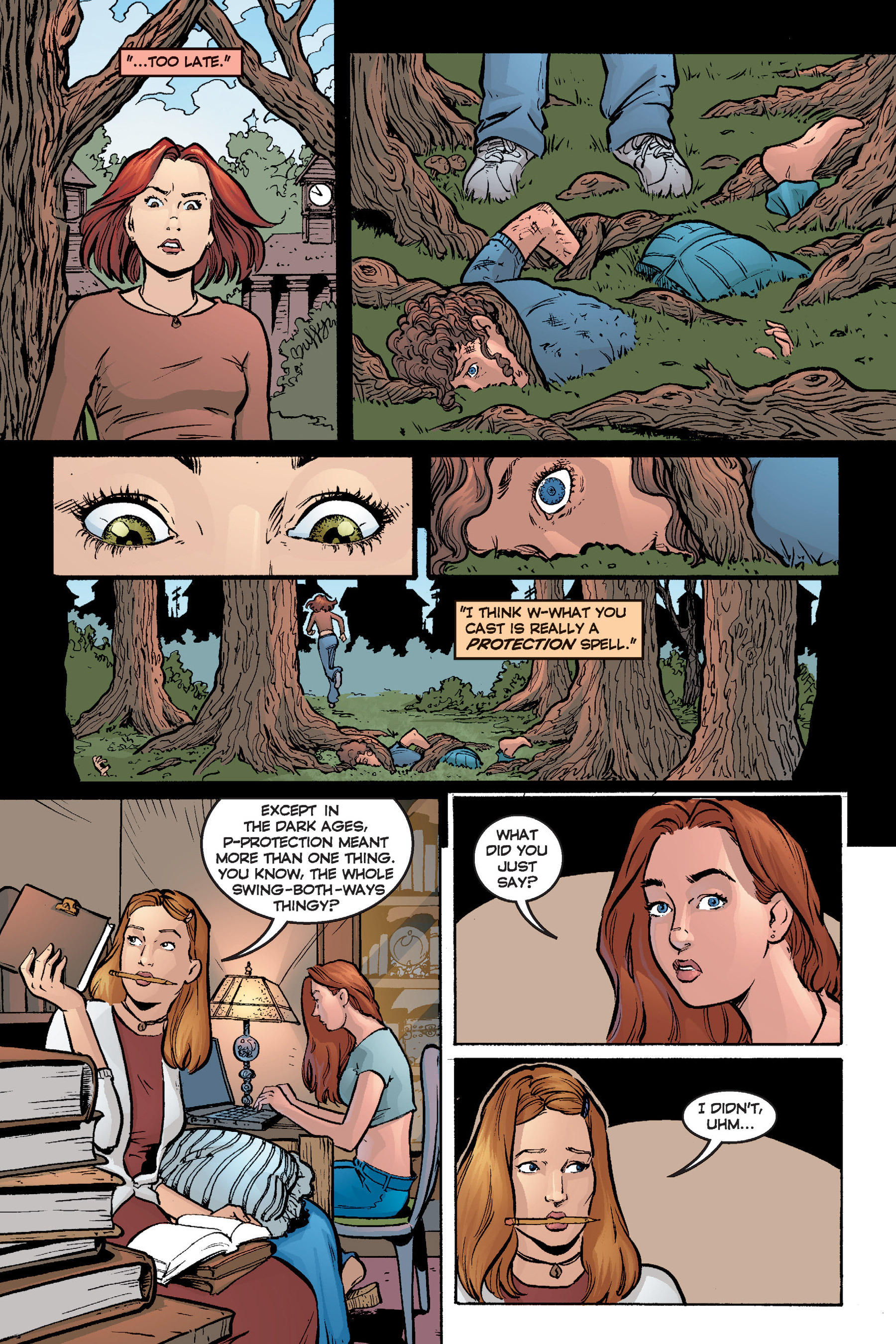 Read online Buffy the Vampire Slayer: Omnibus comic -  Issue # TPB 6 - 285
