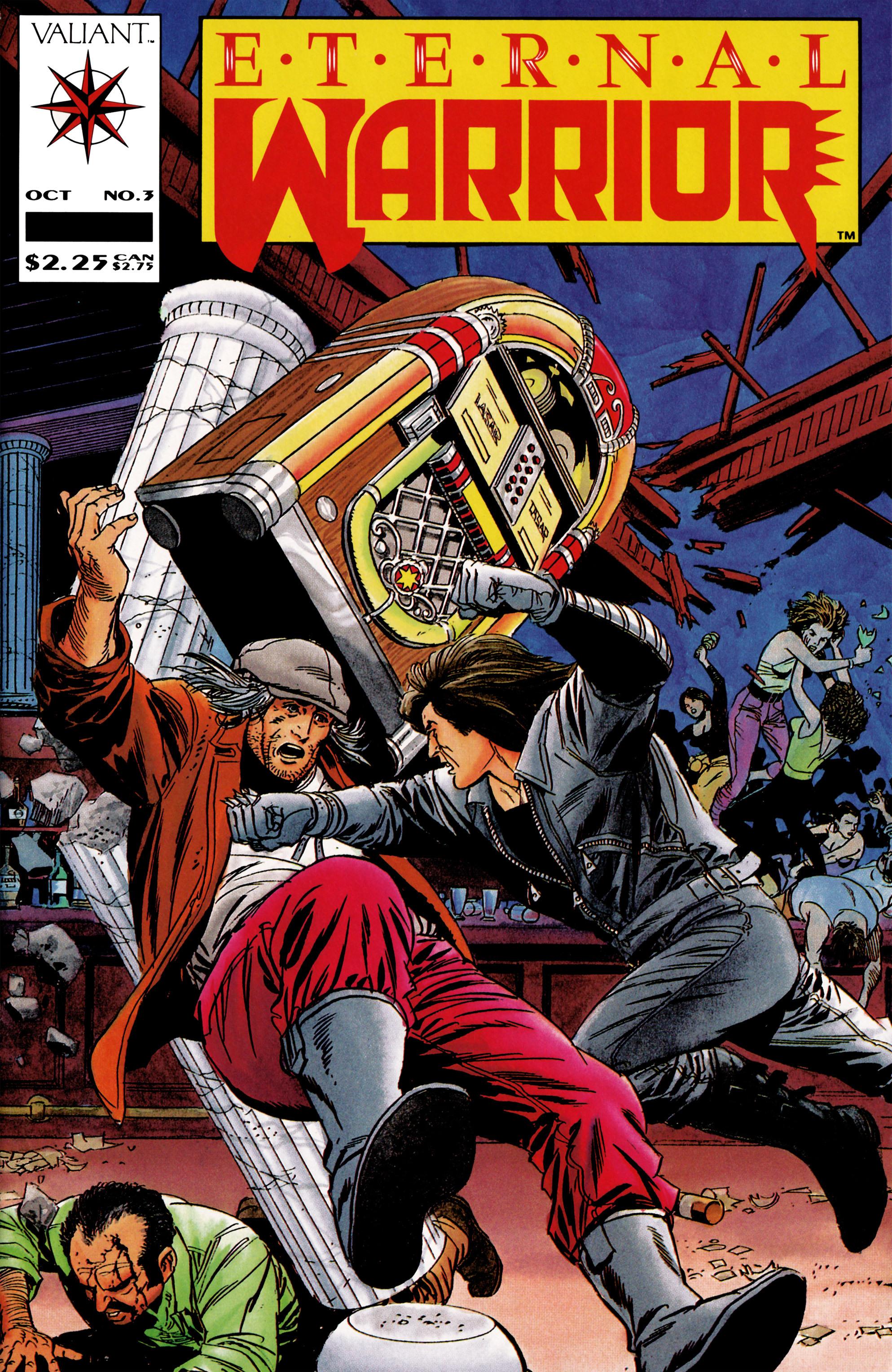 Read online Eternal Warrior (1992) comic -  Issue #3 - 1