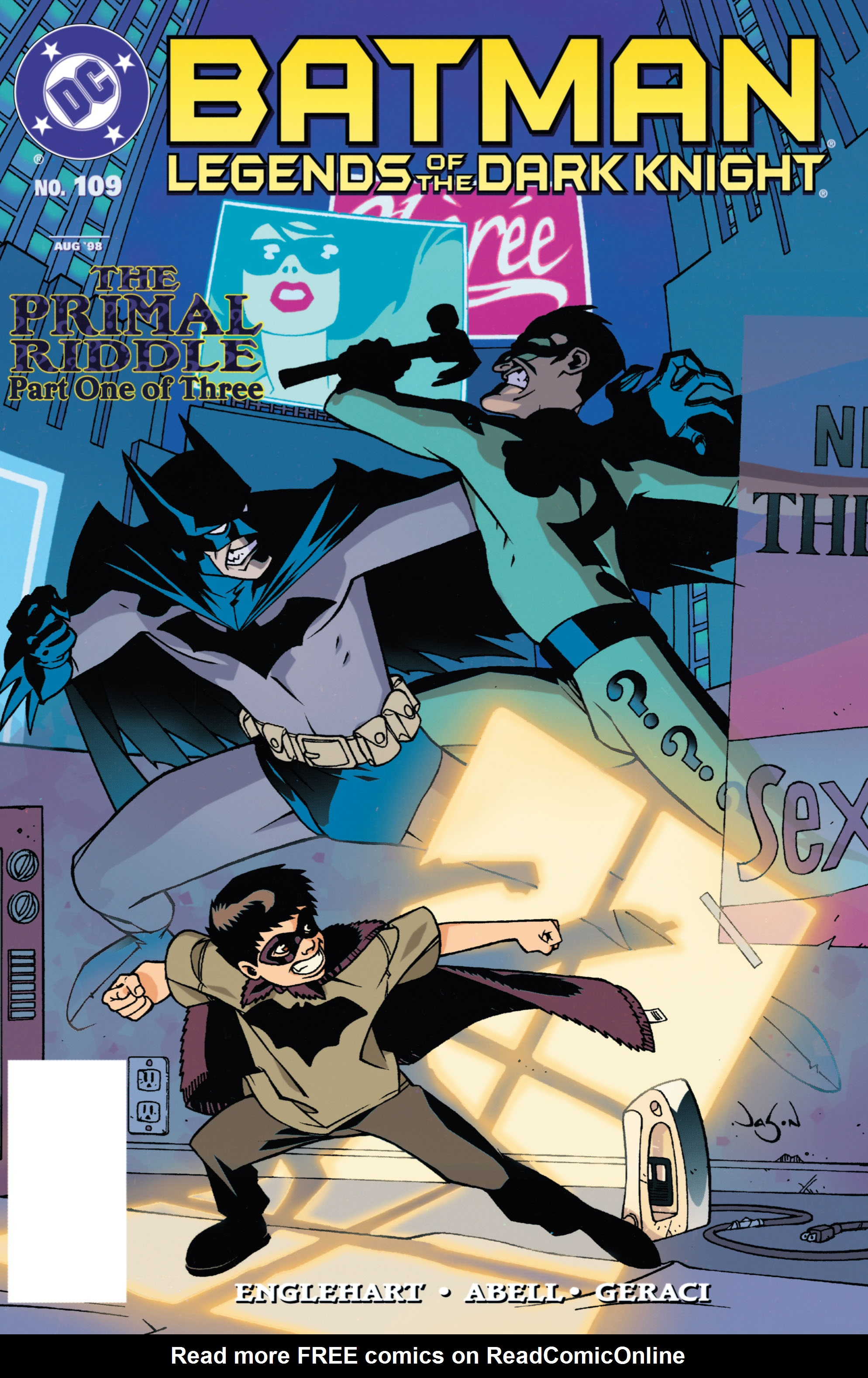 Batman: Legends of the Dark Knight 109 Page 1