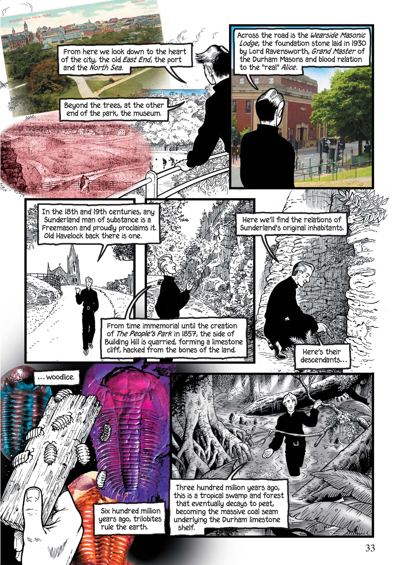 Read online Alice in Sunderland comic -  Issue # Full - 37