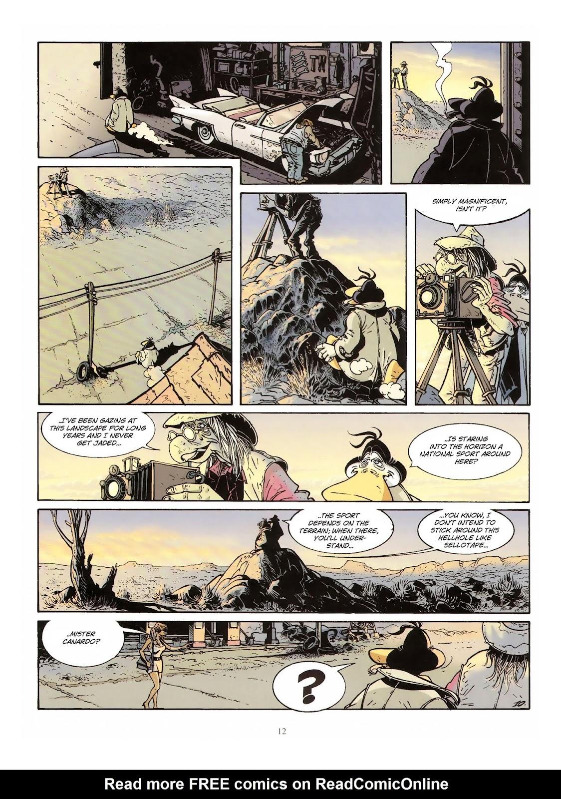 Une enquête de l'inspecteur Canardo issue 10 - Page 13