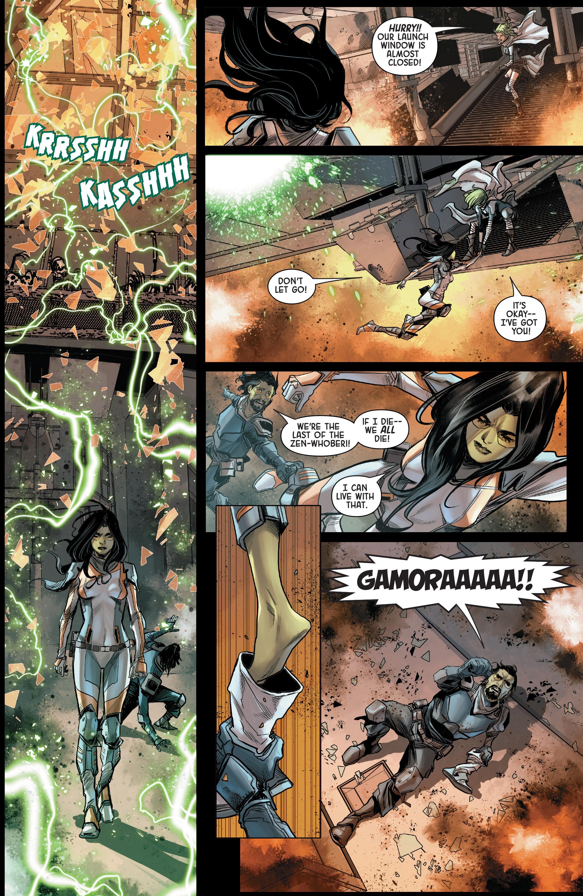 Read online Gamora comic -  Issue #5 - 13