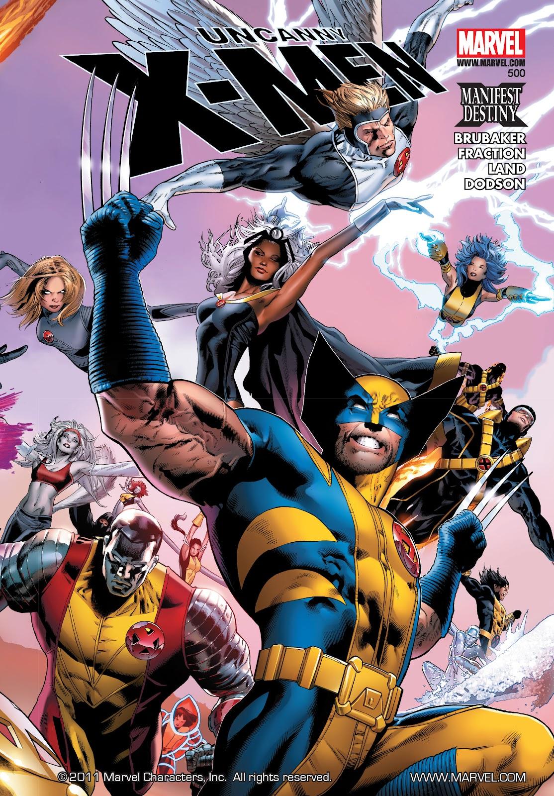 Uncanny X-Men (1963) issue 500 - Page 1