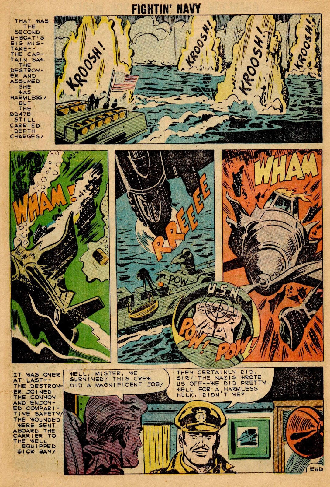 Read online Fightin' Navy comic -  Issue #90 - 10