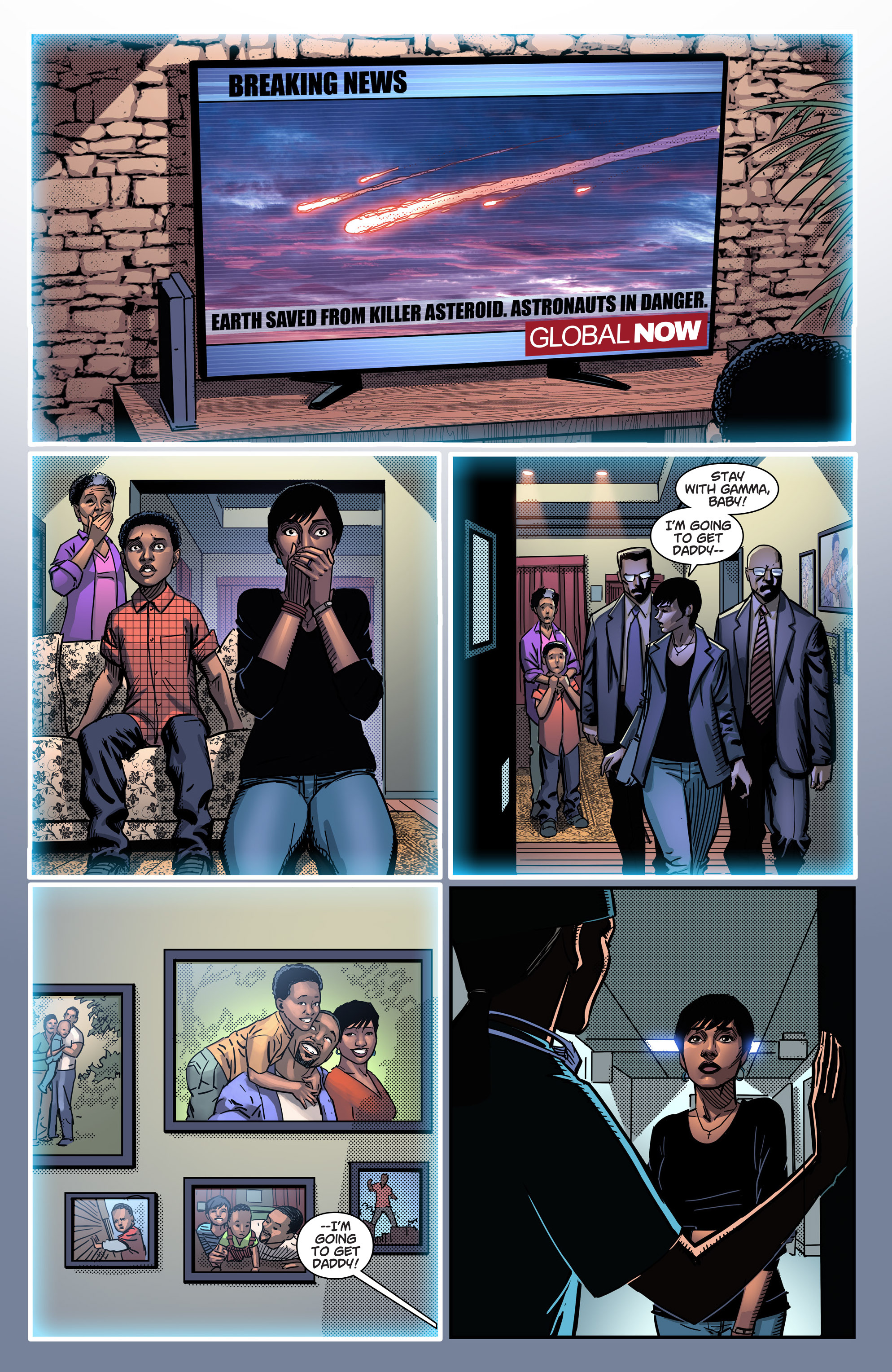 Read online Noble comic -  Issue #1 - 4