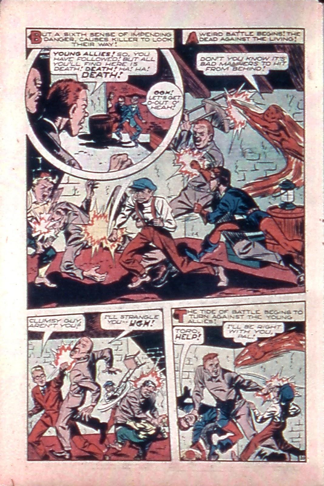 Read online Mystic Comics (1944) comic -  Issue #4 - 22