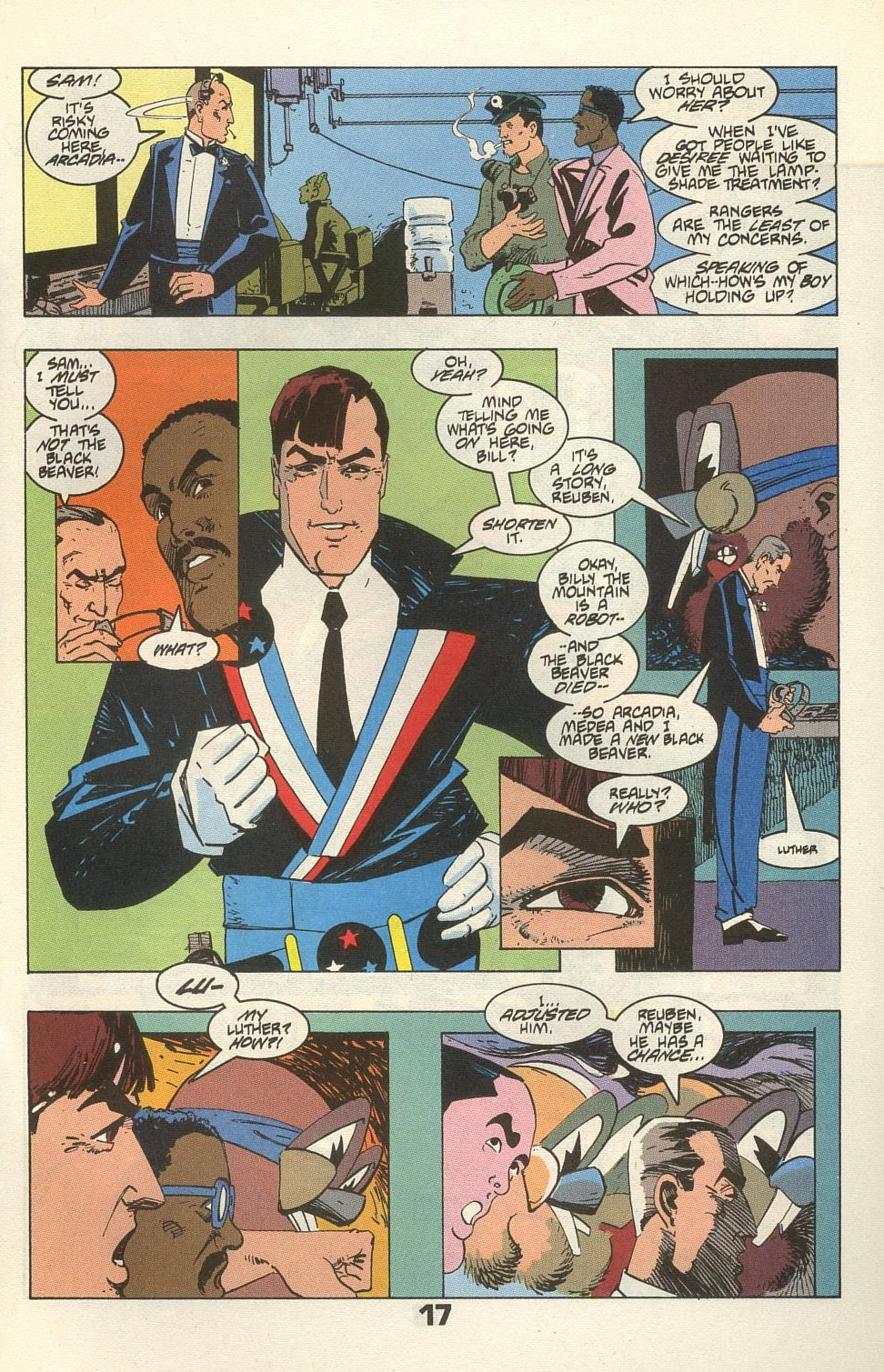 Read online American Flagg! comic -  Issue #34 - 21