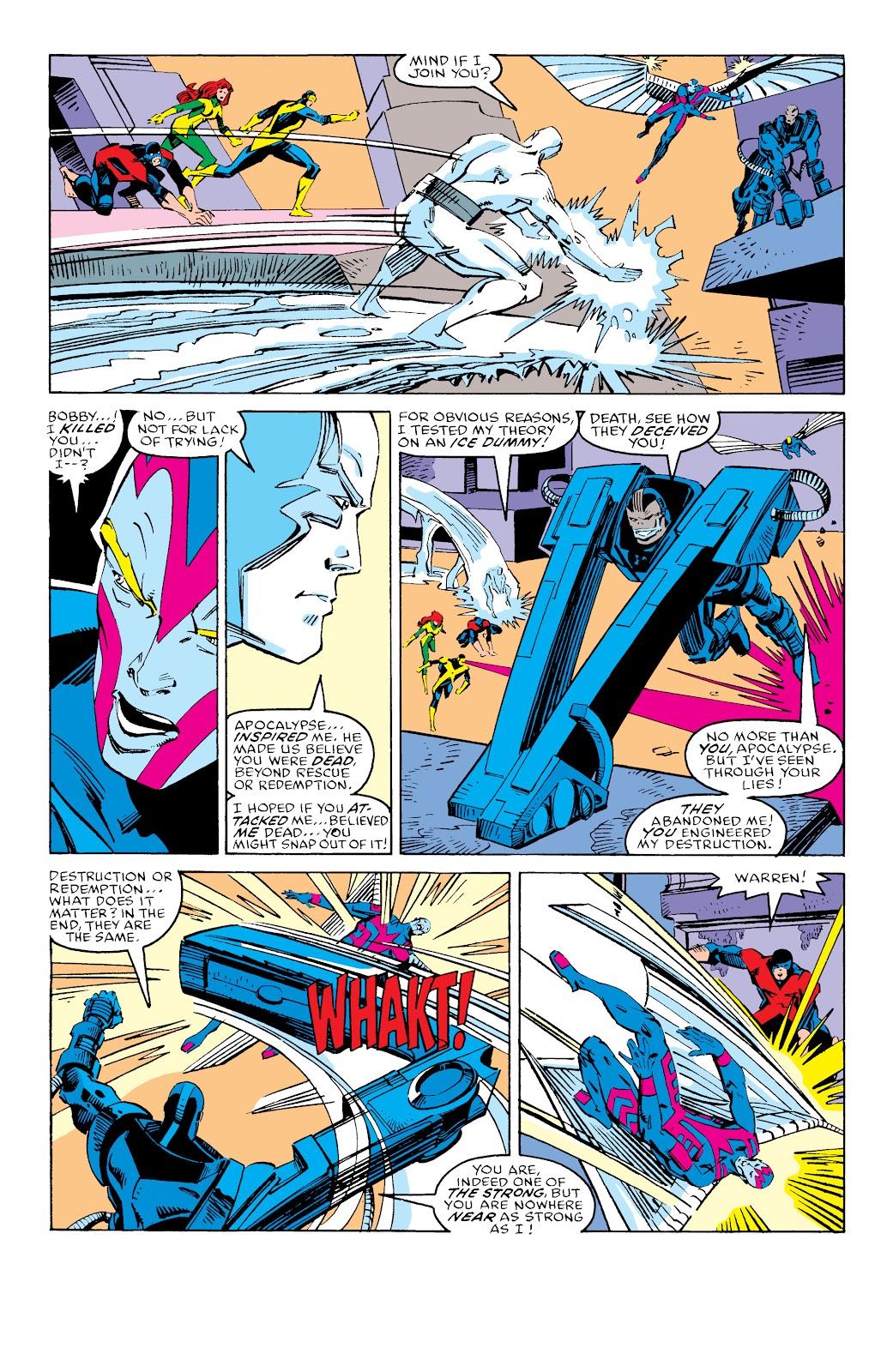 Read online X-Men Milestones: Fall of the Mutants comic -  Issue # TPB (Part 3) - 36