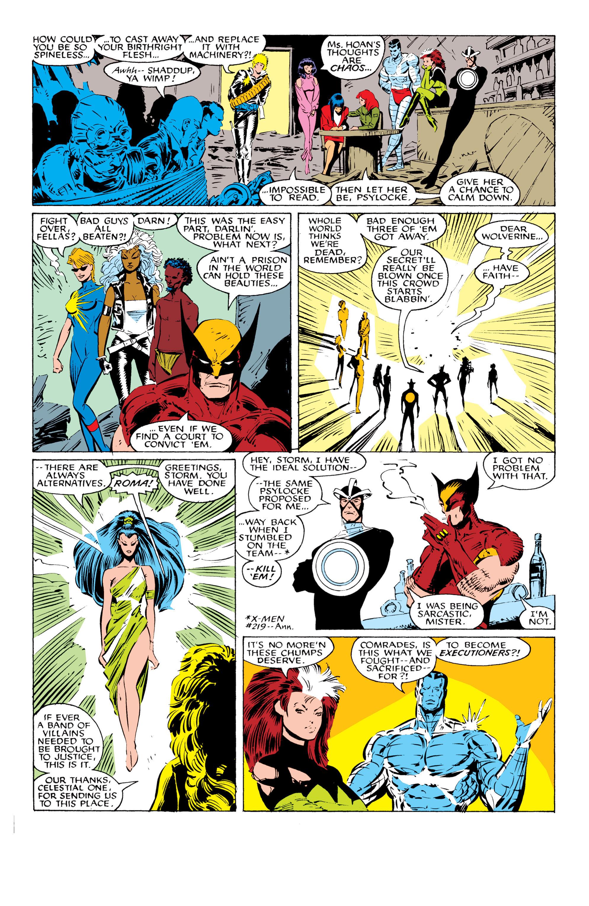 Read online Uncanny X-Men (1963) comic -  Issue #229 - 18