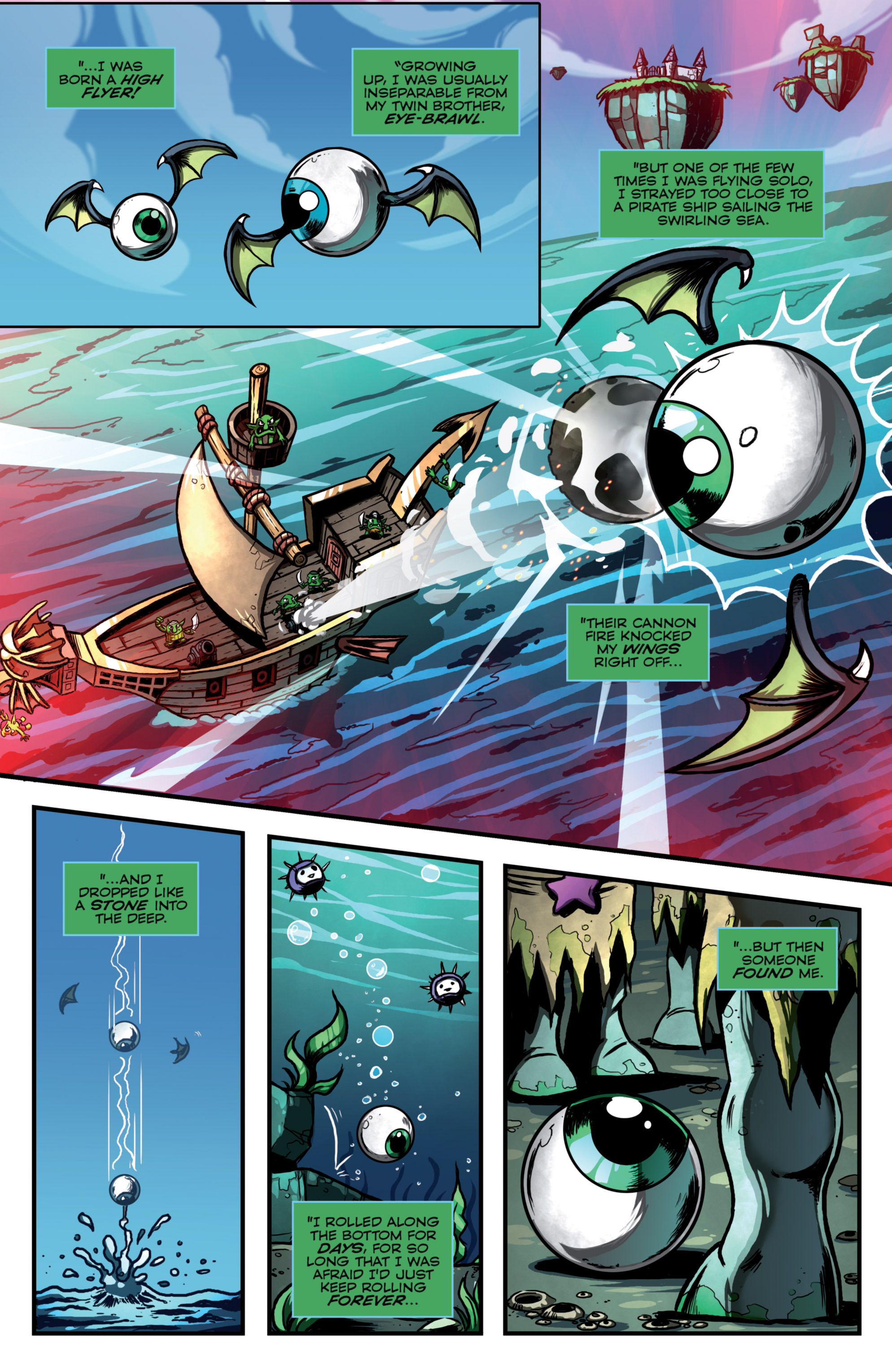 Read online Skylanders Superchargers comic -  Issue #4 - 21