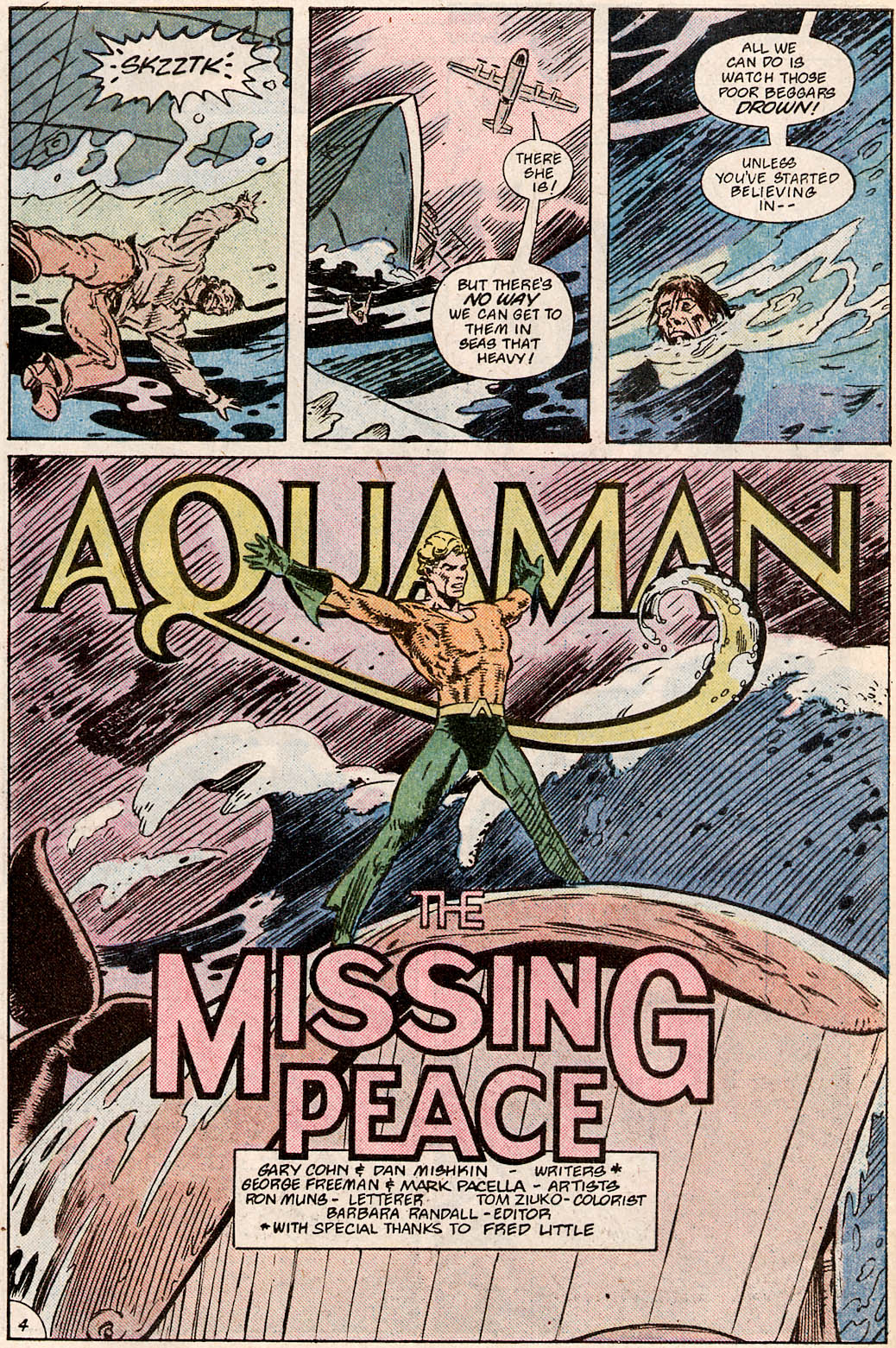 Read online Aquaman Special comic -  Issue #Aquaman Special Full - 6