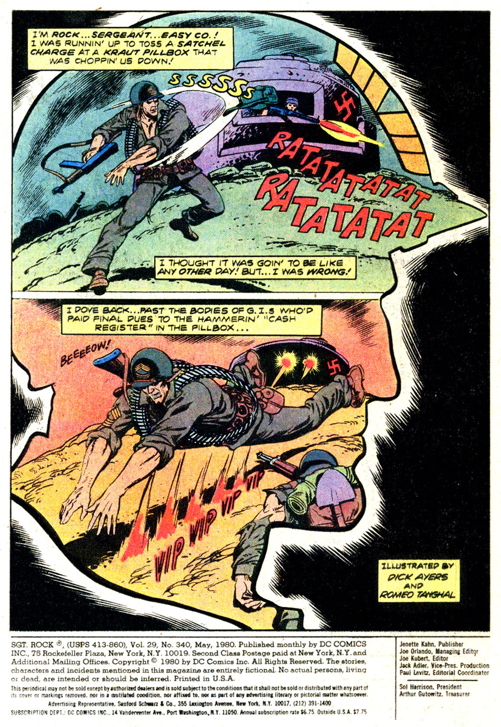 Read online Sgt. Rock comic -  Issue #340 - 2