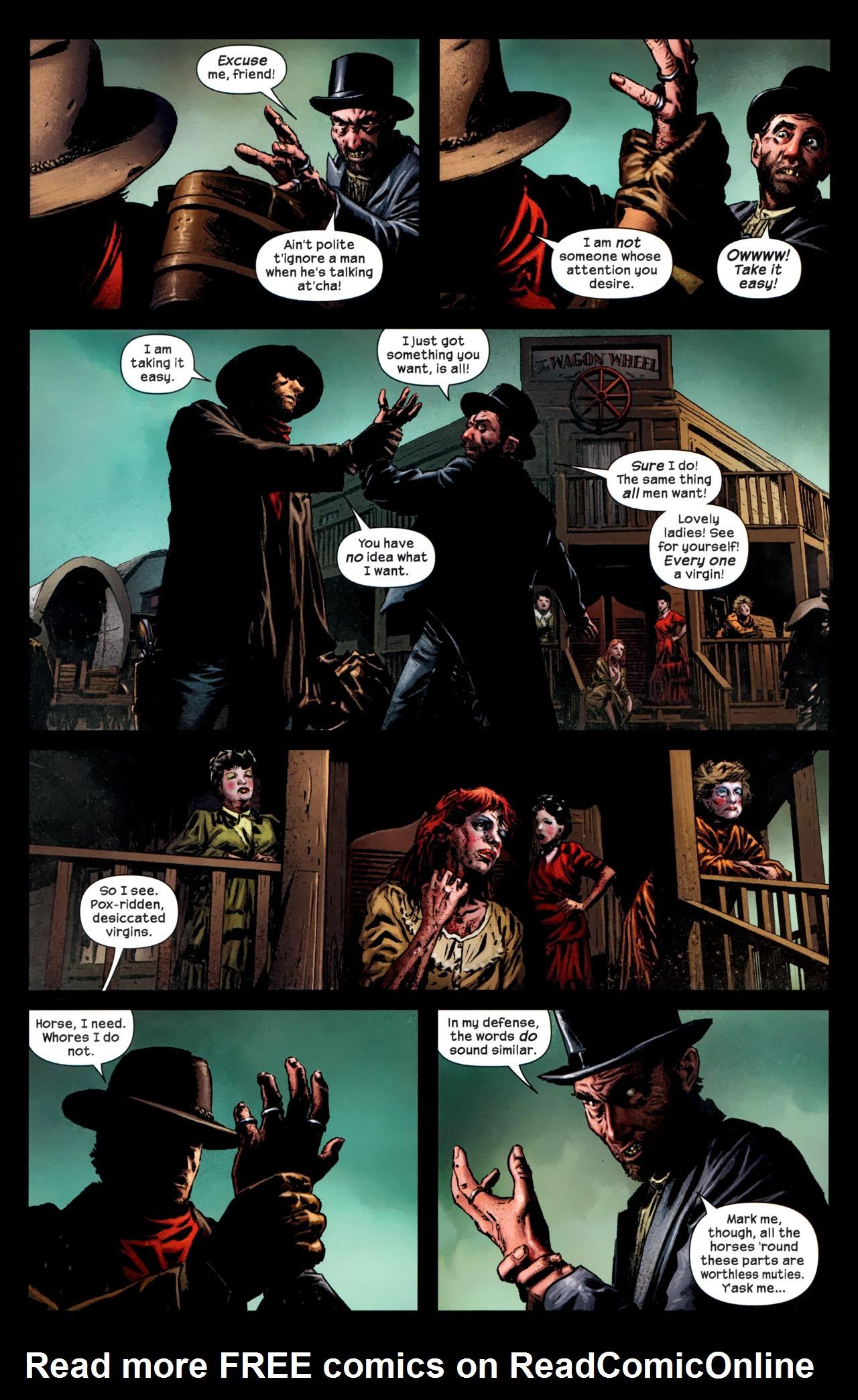 Read online Dark Tower: The Gunslinger - The Battle of Tull comic -  Issue #1 - 6