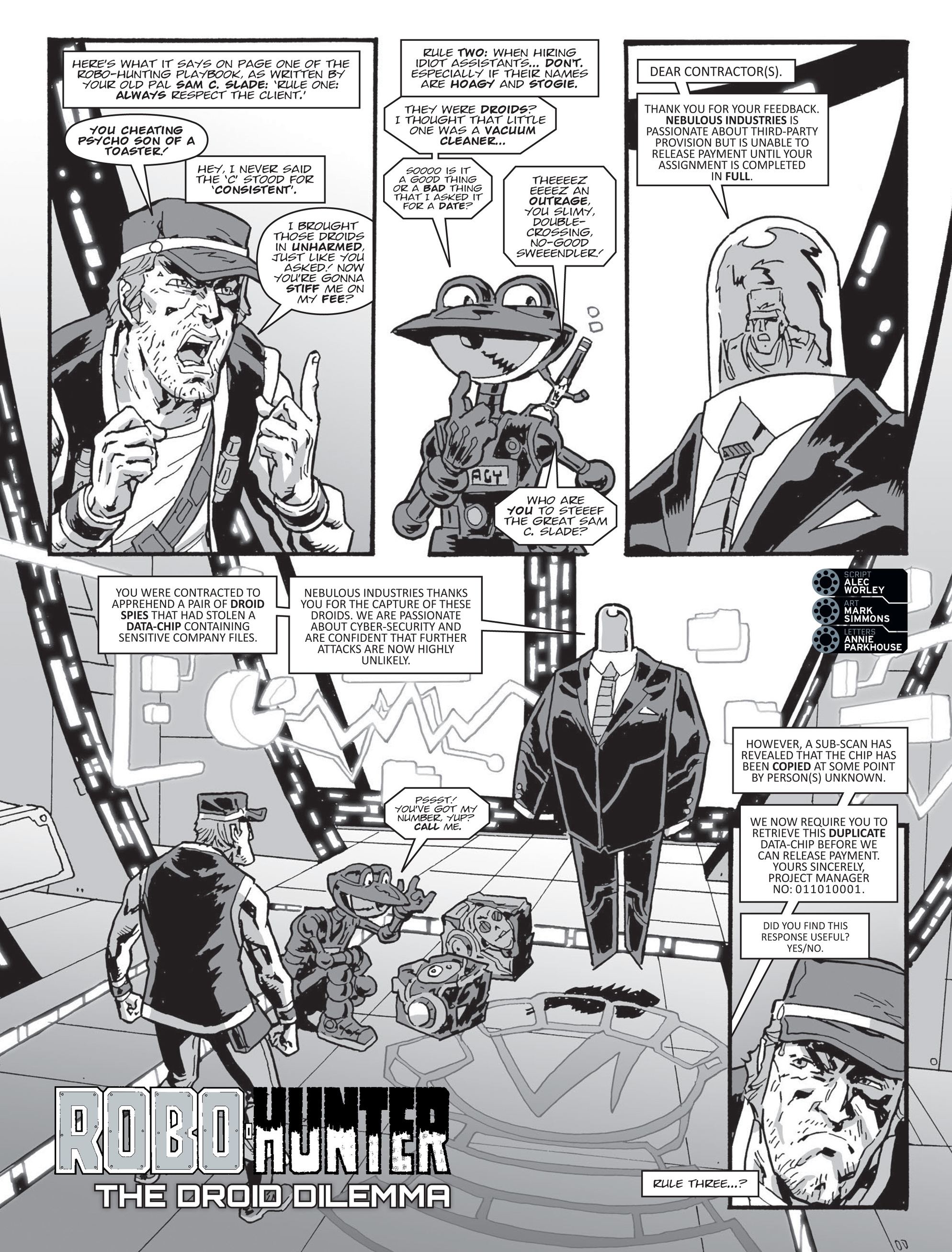 Read online 2000 AD comic -  Issue #2000 AD _Sci-Fi Special 2016 - 19