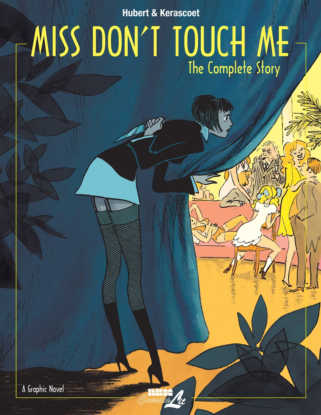 Miss Don't Touch Me: The Complete Story issue TPB - Page 1