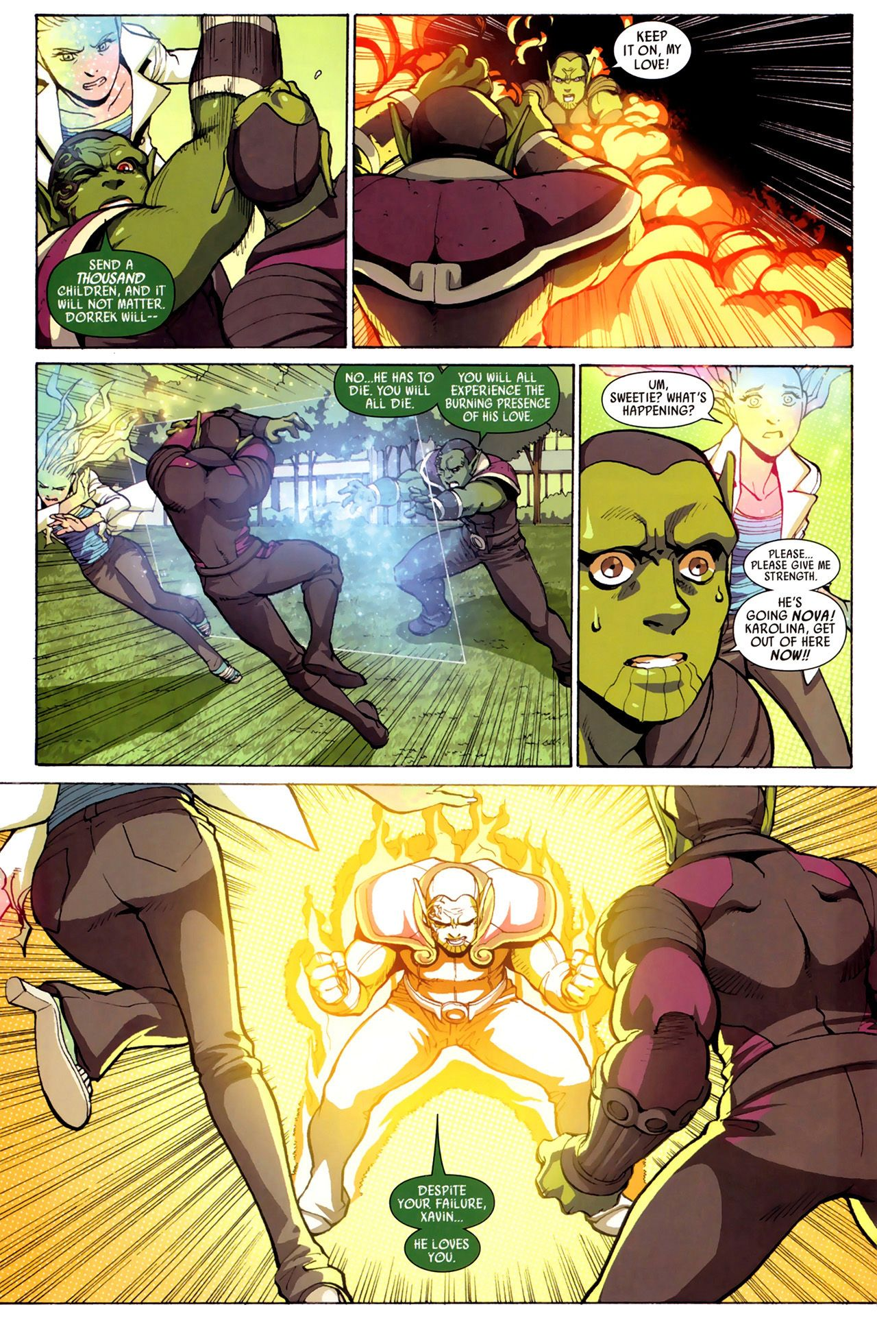 Read online Secret Invasion: Runaways/Young Avengers comic -  Issue #3 - 21