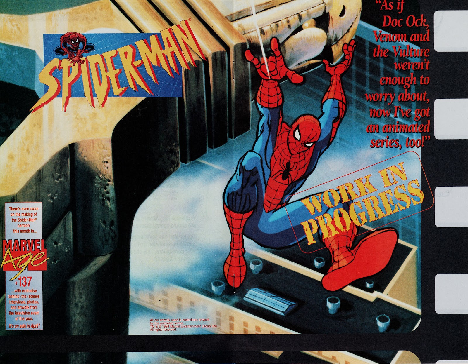 Web of Spider-Man (1985) Issue #113 #123 - English 27