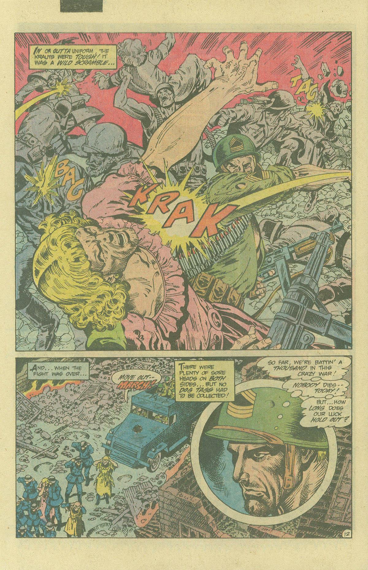 Read online Sgt. Rock comic -  Issue #394 - 15