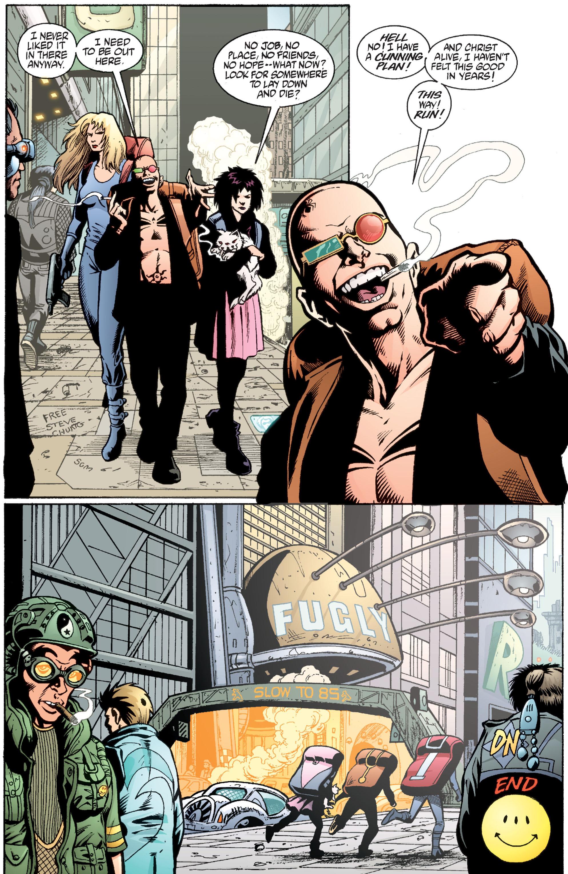 Read online Transmetropolitan comic -  Issue #36 - 23
