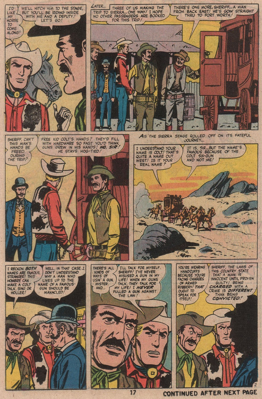 Kid Colt Outlaw issue 210 - Page 19