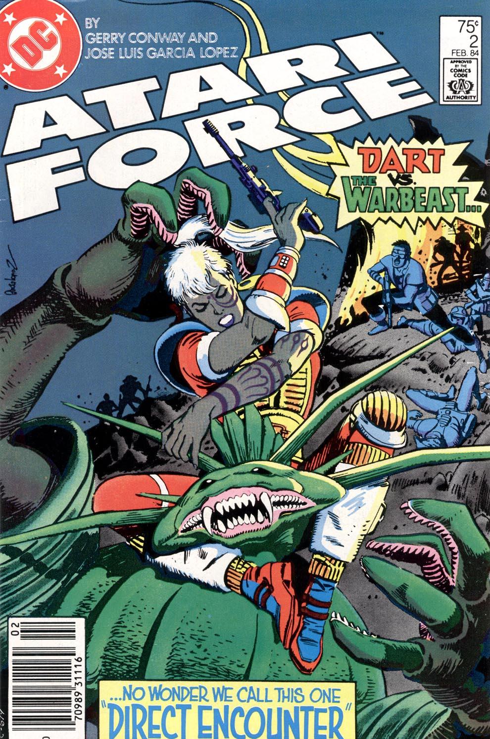 Atari Force (1984) 2 Page 1
