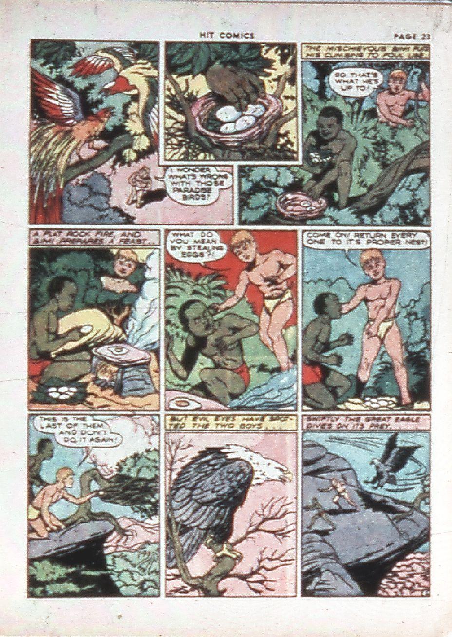 Read online Hit Comics comic -  Issue #10 - 25