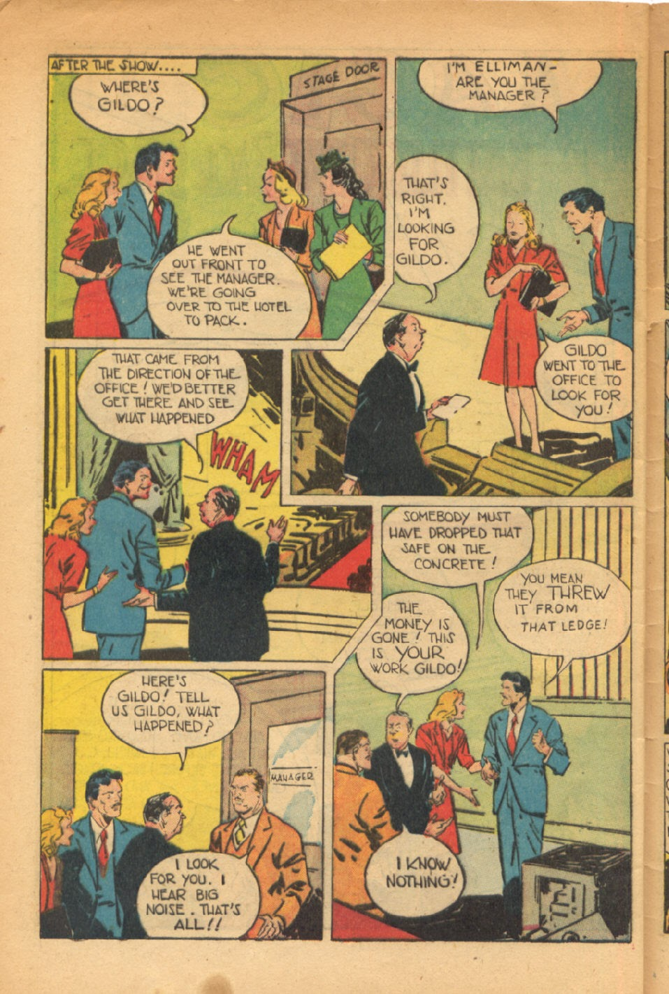 Read online Super-Magician Comics comic -  Issue #54 - 43