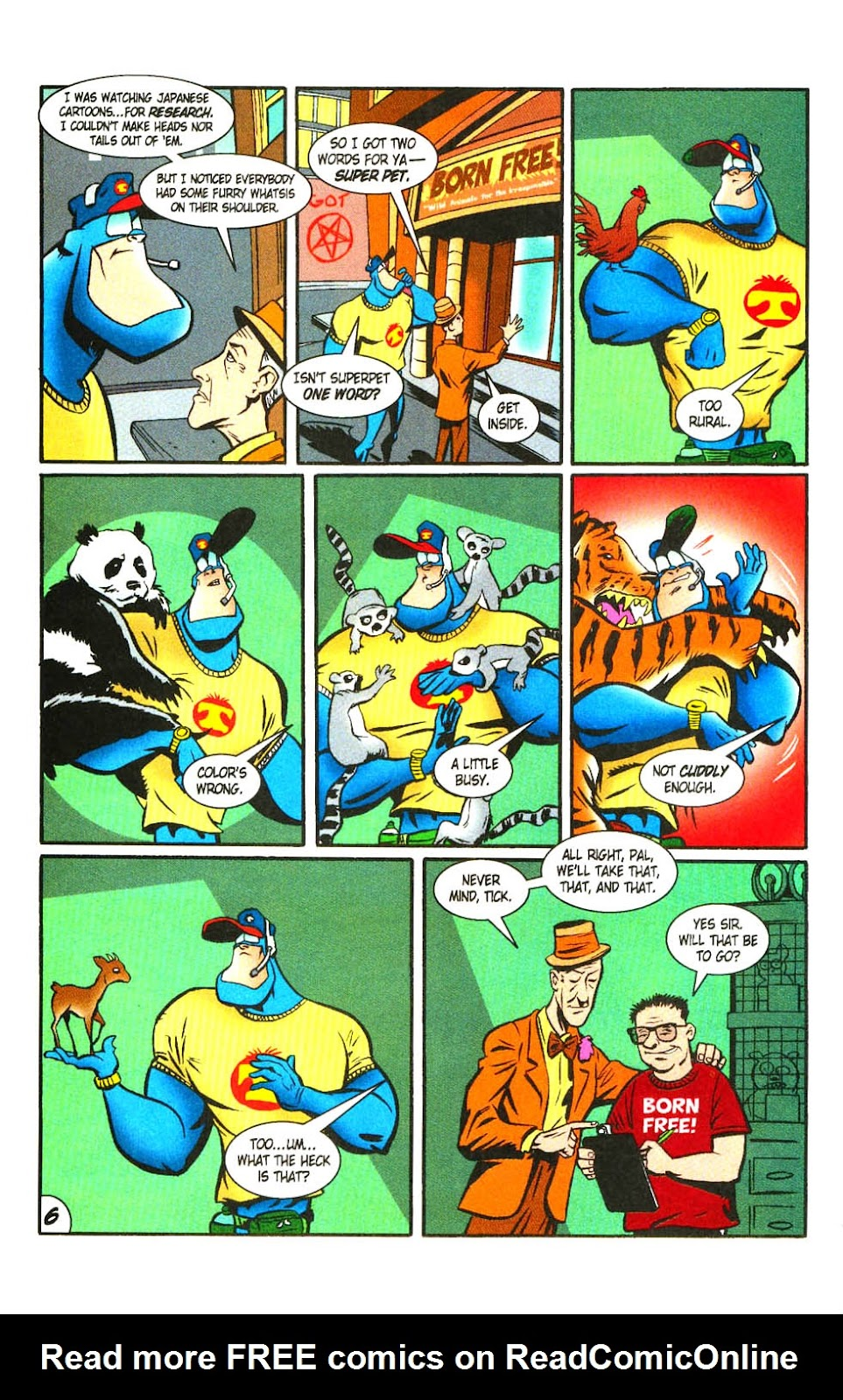 Read online The Tick: Days of Drama comic -  Issue #3 - 8