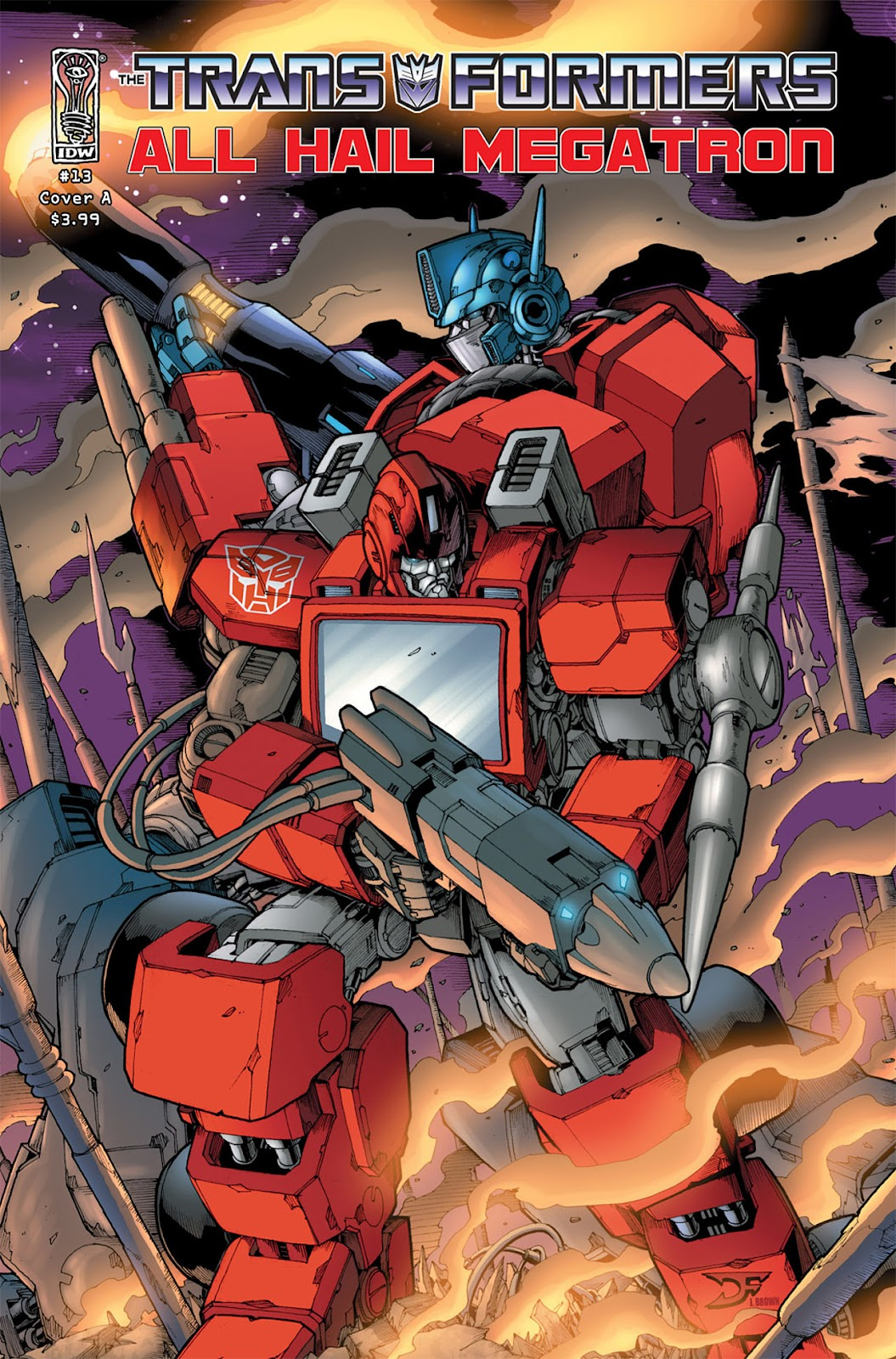 The Transformers: All Hail Megatron issue 13 - Page 1