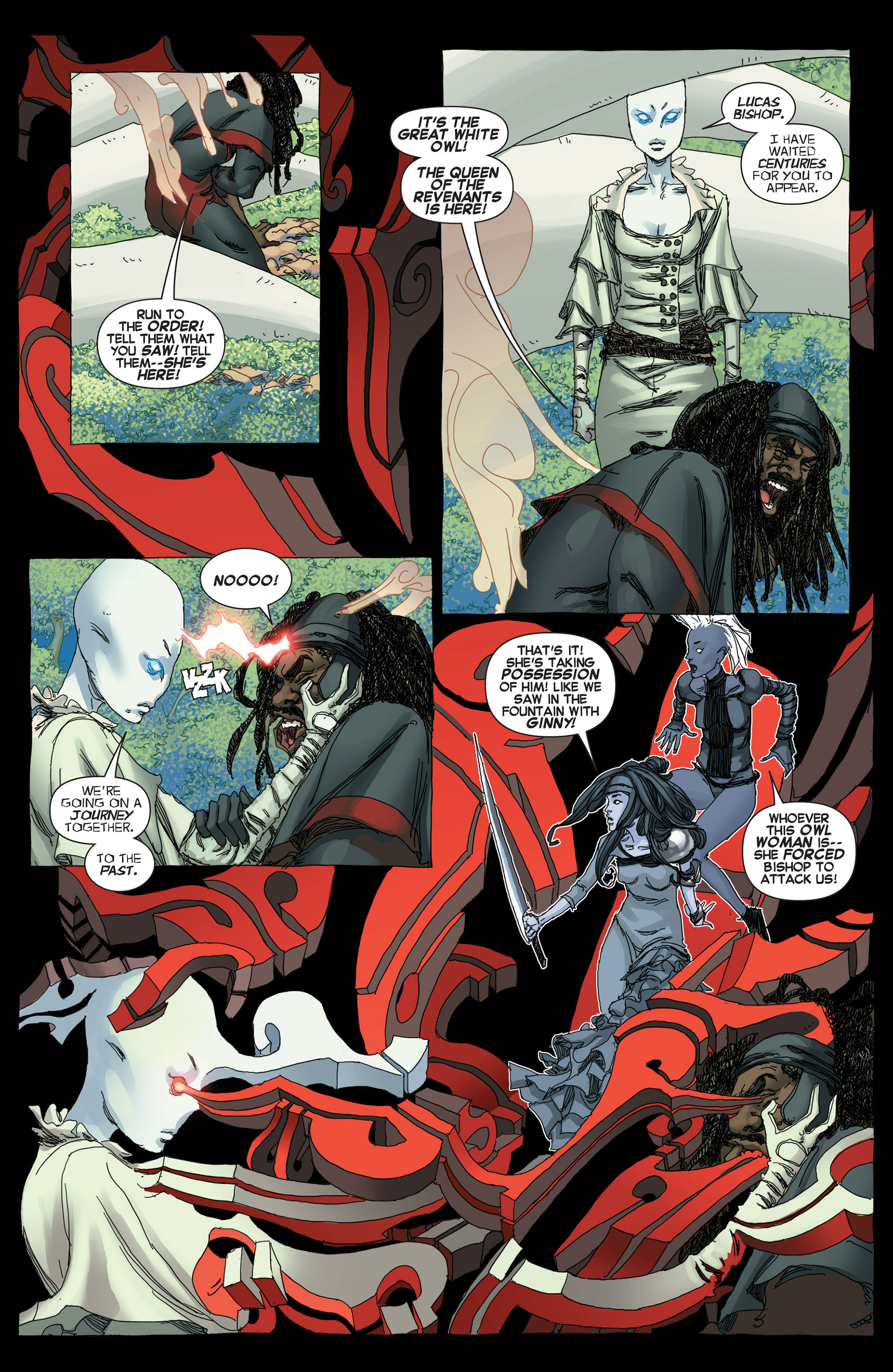 Read online Uncanny X-Force (2013) comic -  Issue #5 - 17