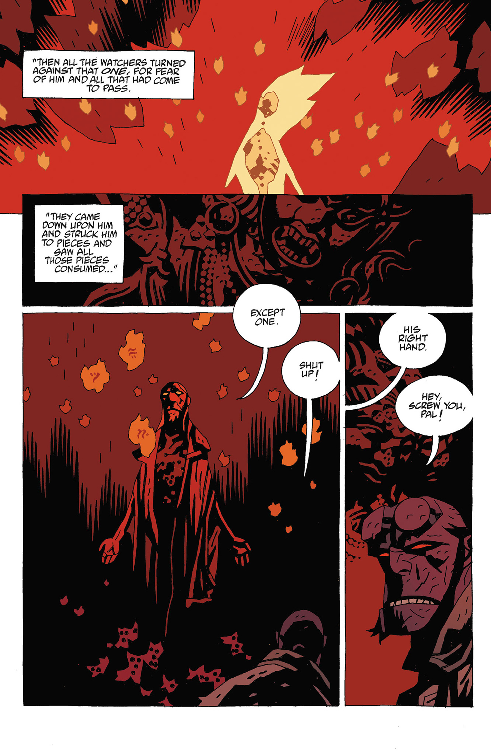 Read online Hellboy: Strange Places comic -  Issue # TPB - 108