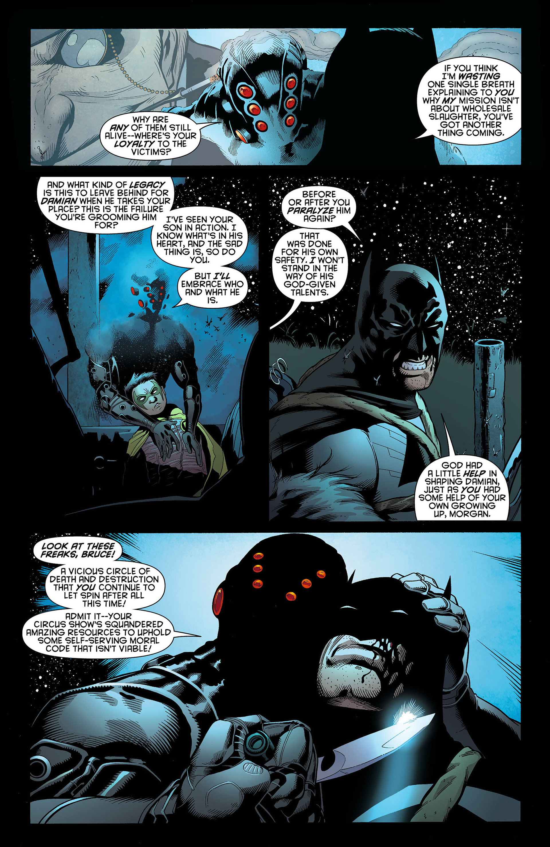 Read online Batman and Robin (2011) comic -  Issue #4 - 5