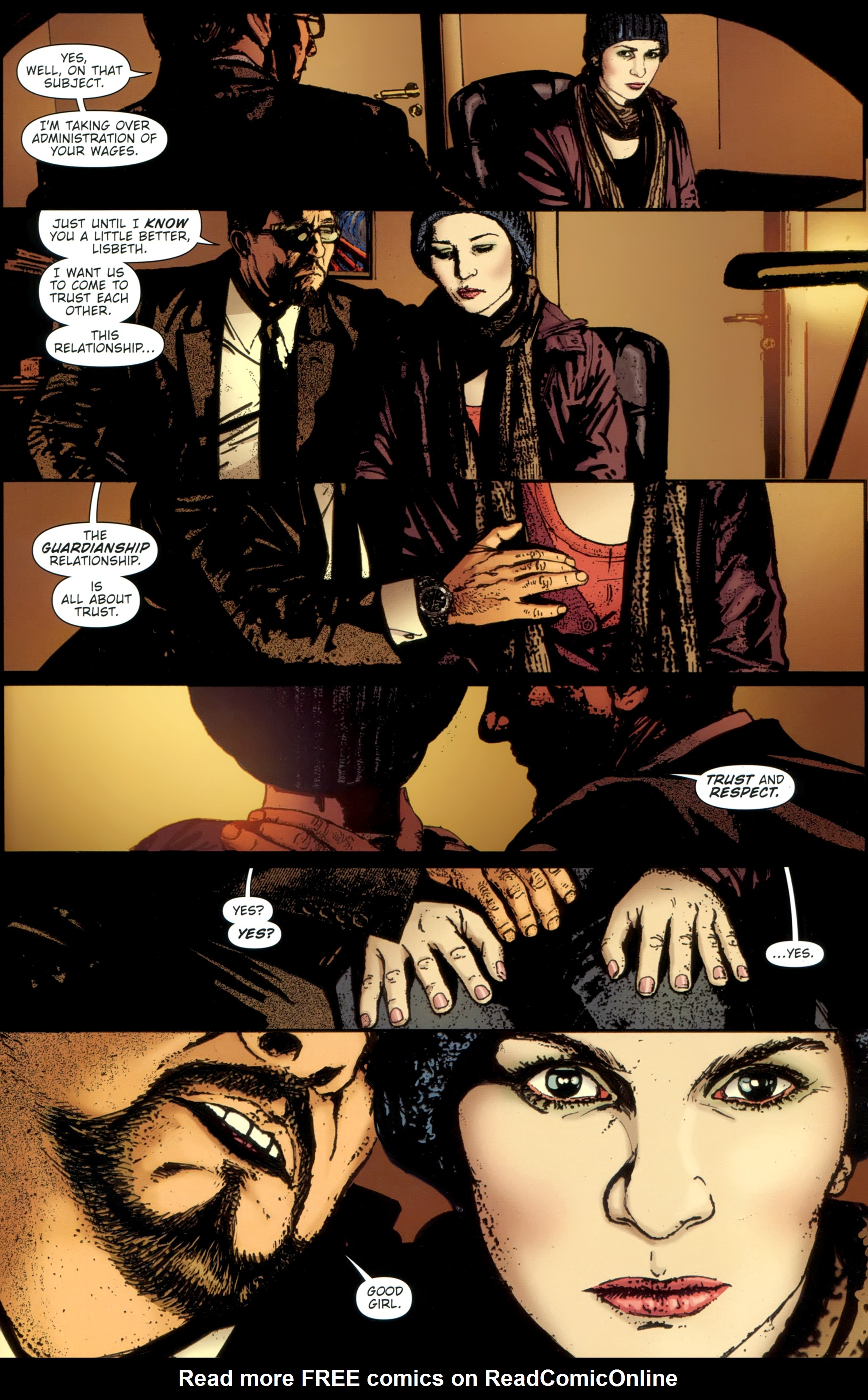 Read online The Girl With the Dragon Tattoo comic -  Issue # TPB 1 - 89