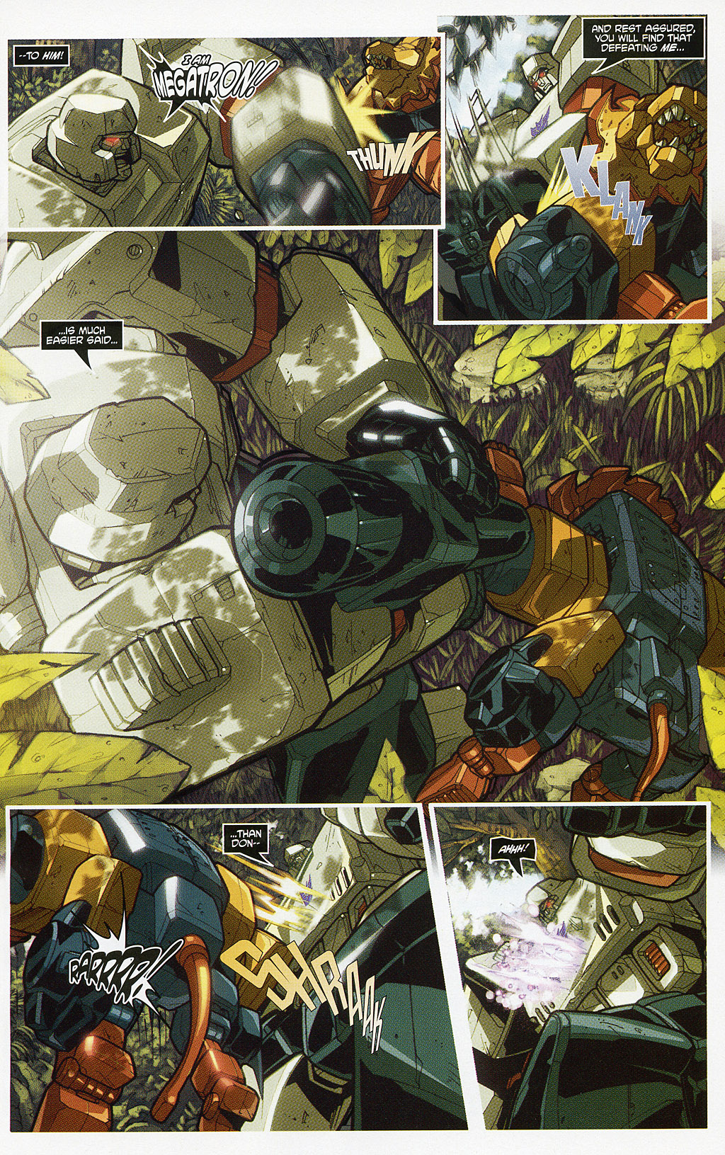 Read online Transformers 20th Anniversary Summer Special comic -  Issue # Full - 5