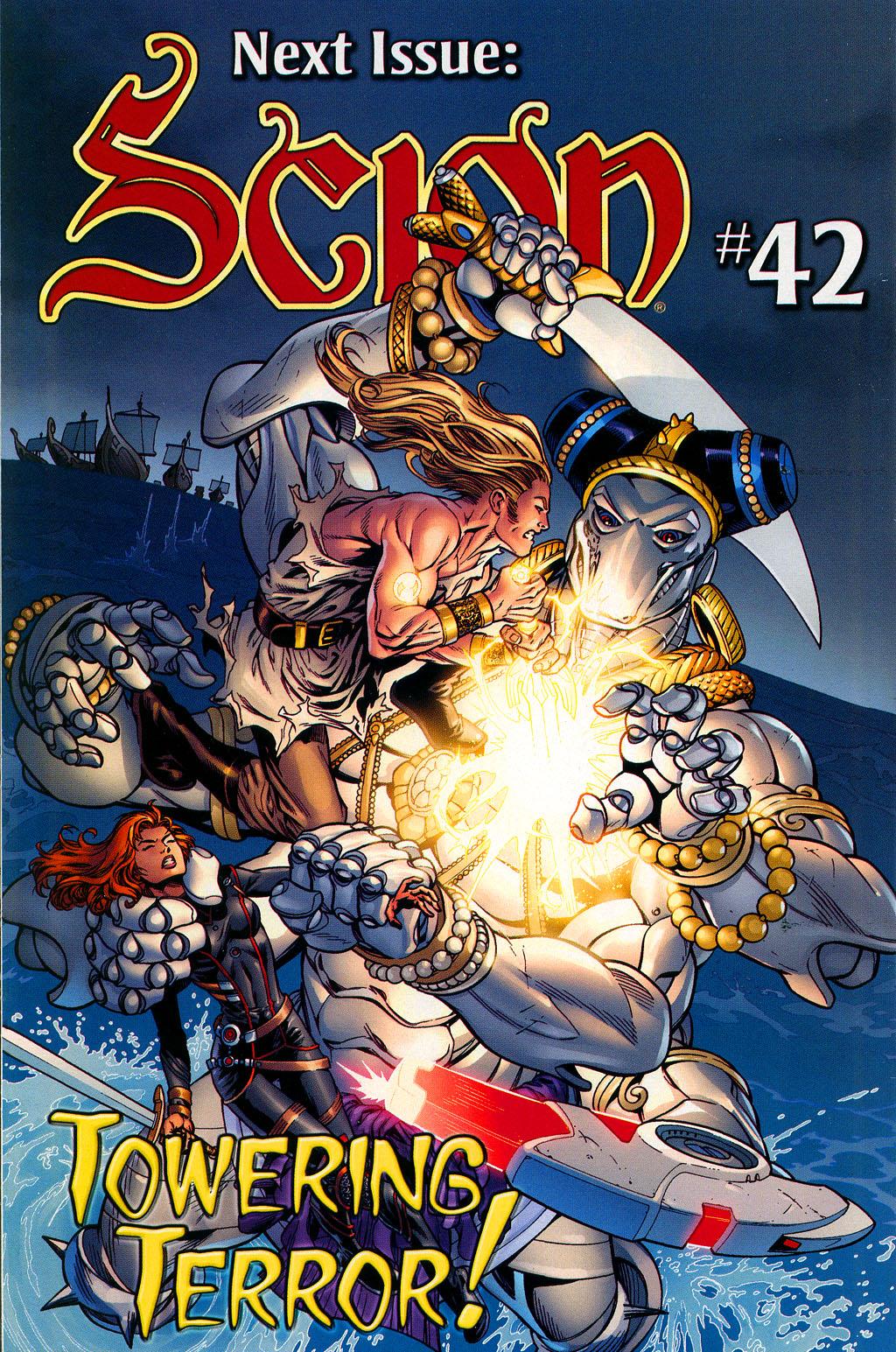 Read online Scion comic -  Issue #41 - 20