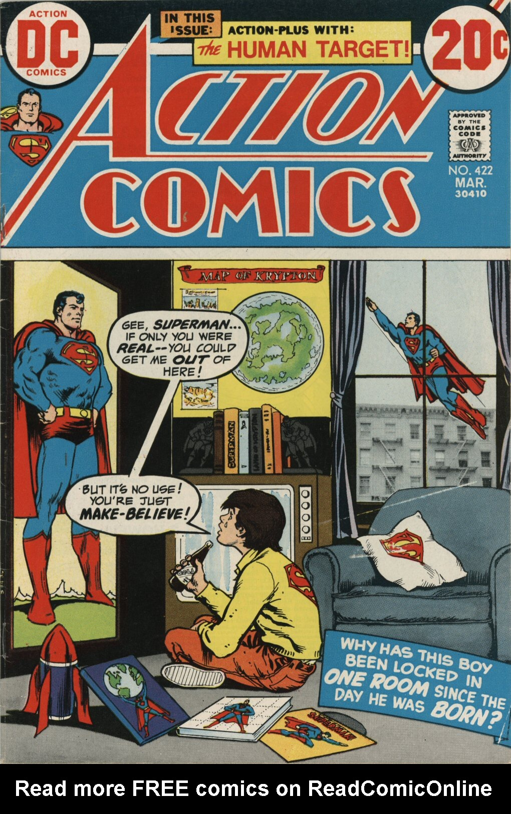 Read online Action Comics (1938) comic -  Issue #422 - 1