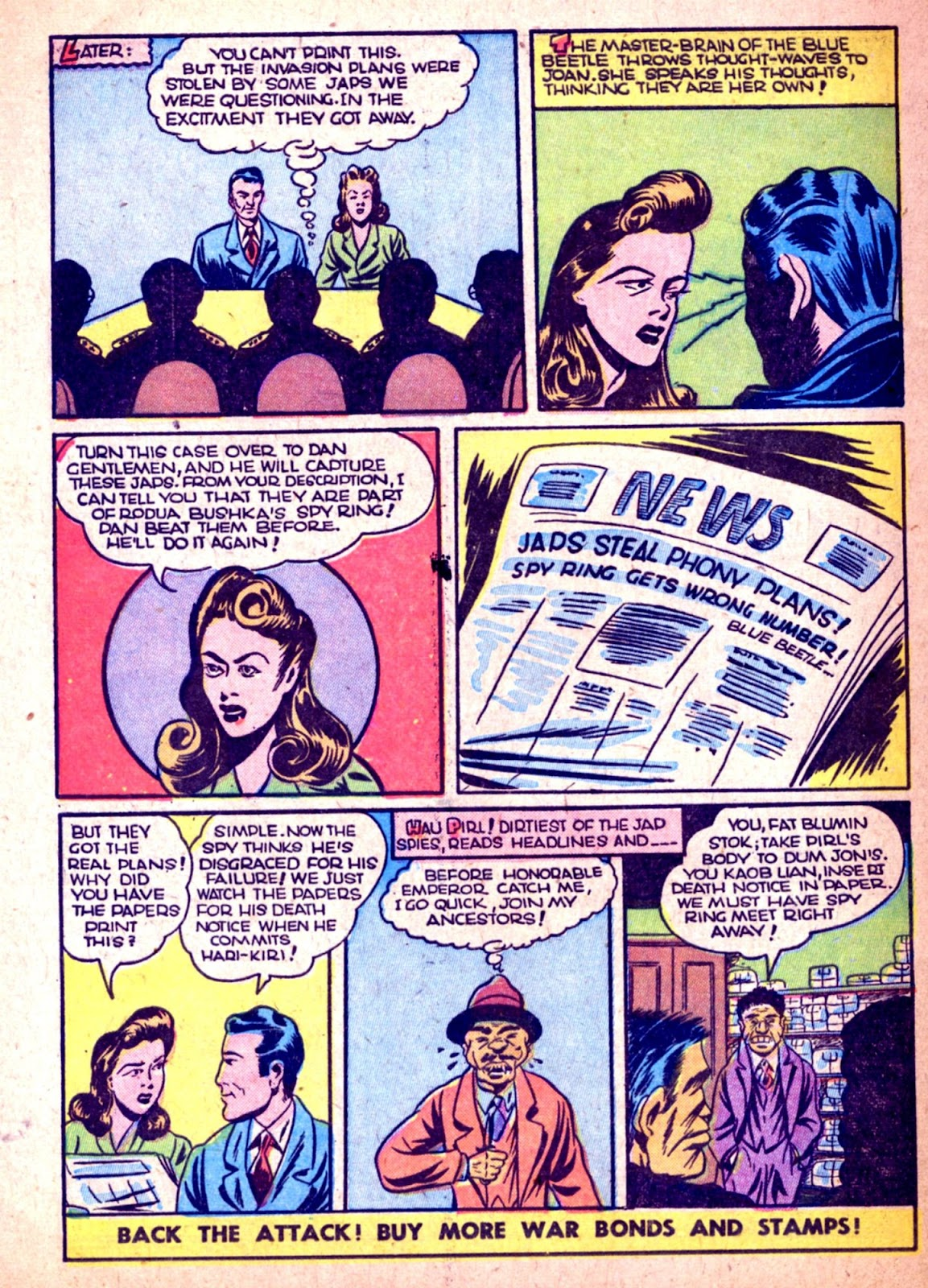 The Blue Beetle issue 31 - Page 42