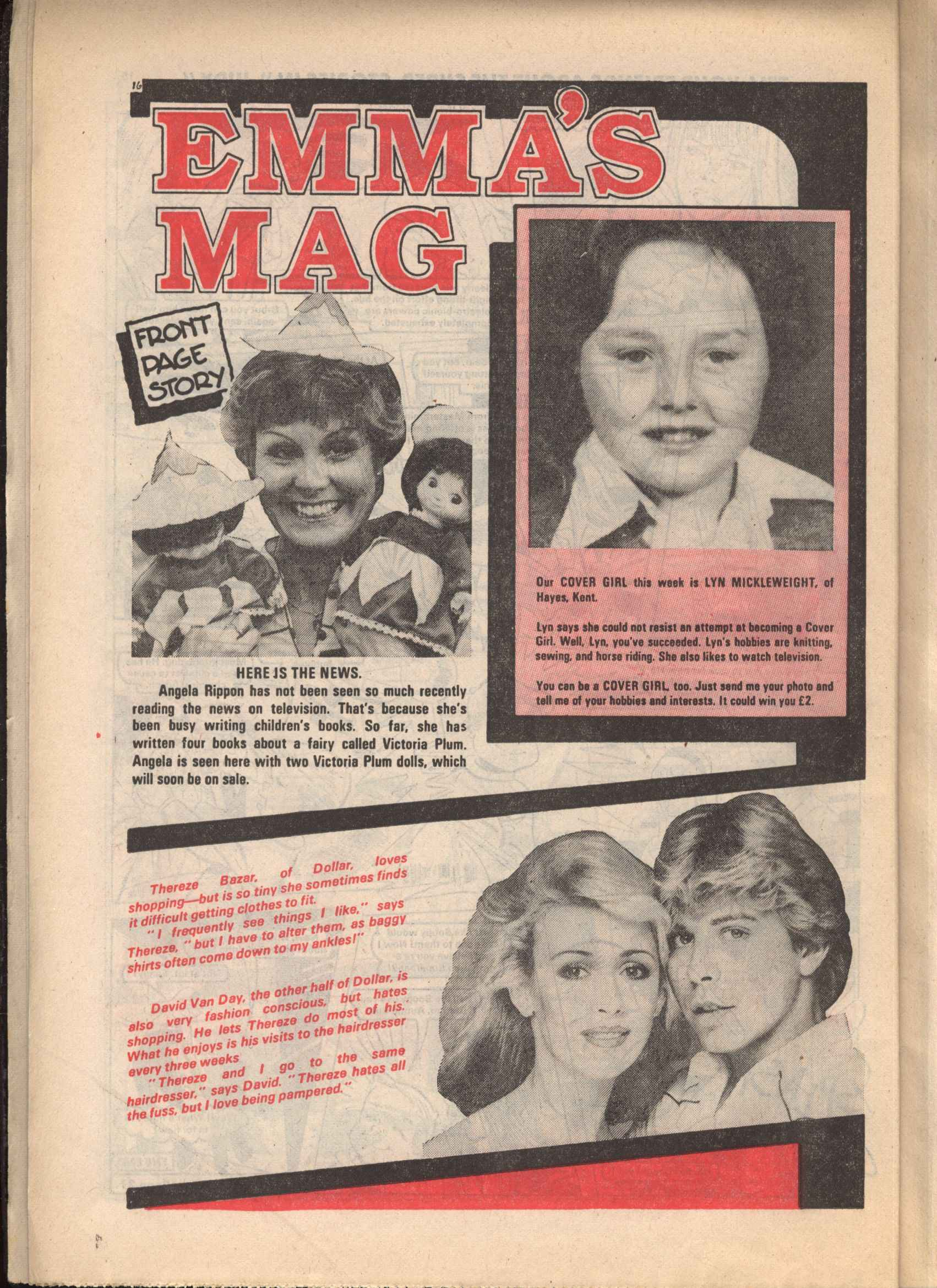 Read online Judy comic -  Issue #1101 - 16