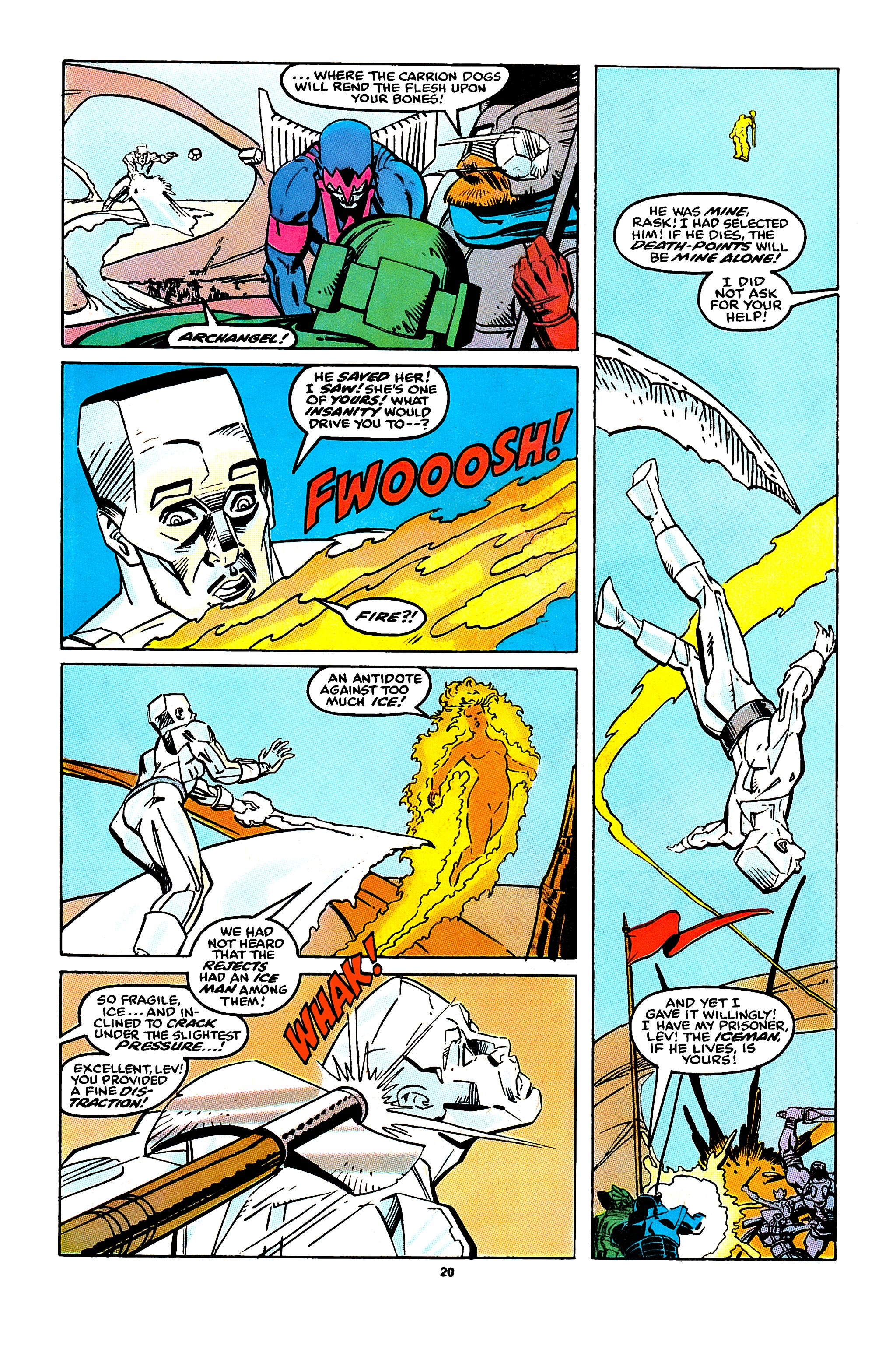 Read online X-Factor (1986) comic -  Issue #43 - 16